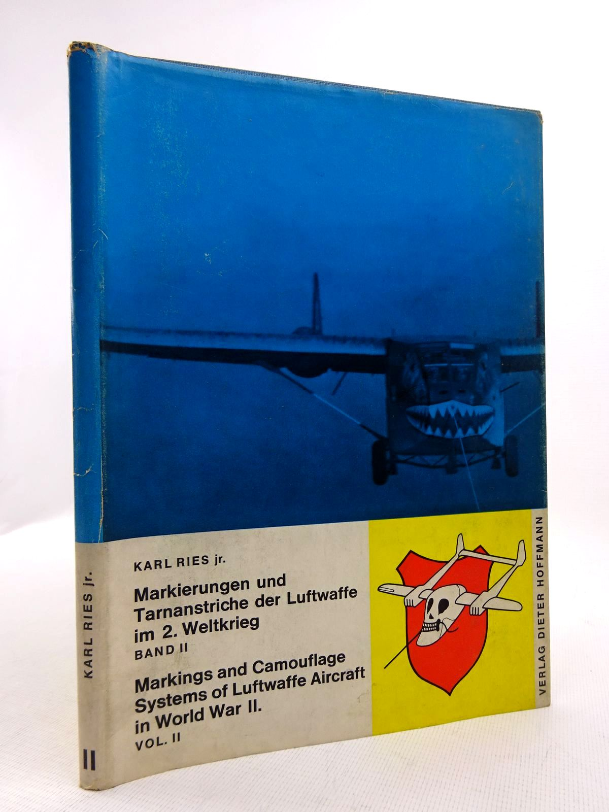 Photo of MARKINGS AND CAMOUFLAGE SYSTEMS OF LUFTWAFFE AIRCRAFT IN WORLD WAR II VOLUME II written by Ries, Karl published by Dieter Hoffmann (STOCK CODE: 1816831)  for sale by Stella & Rose's Books