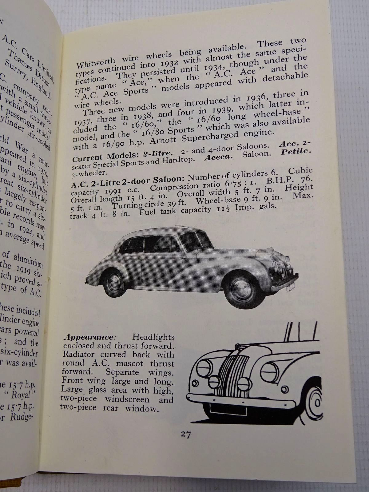 Photo of THE OBSERVER'S BOOK OF AUTOMOBILES written by Parsons, Richard T. published by Frederick Warne & Co Ltd. (STOCK CODE: 1816858)  for sale by Stella & Rose's Books