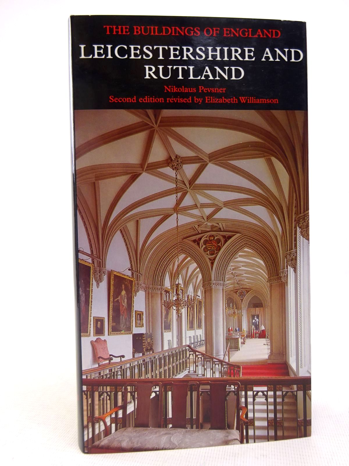 Photo of LEICESTERSHIRE AND RUTLAND (BUILDINGS OF ENGLAND) written by Pevsner, Nikolaus<br />Williamson, Elizabeth<br />Brandwood, Geoffrey K. published by Yale University Press (STOCK CODE: 1816897)  for sale by Stella & Rose's Books
