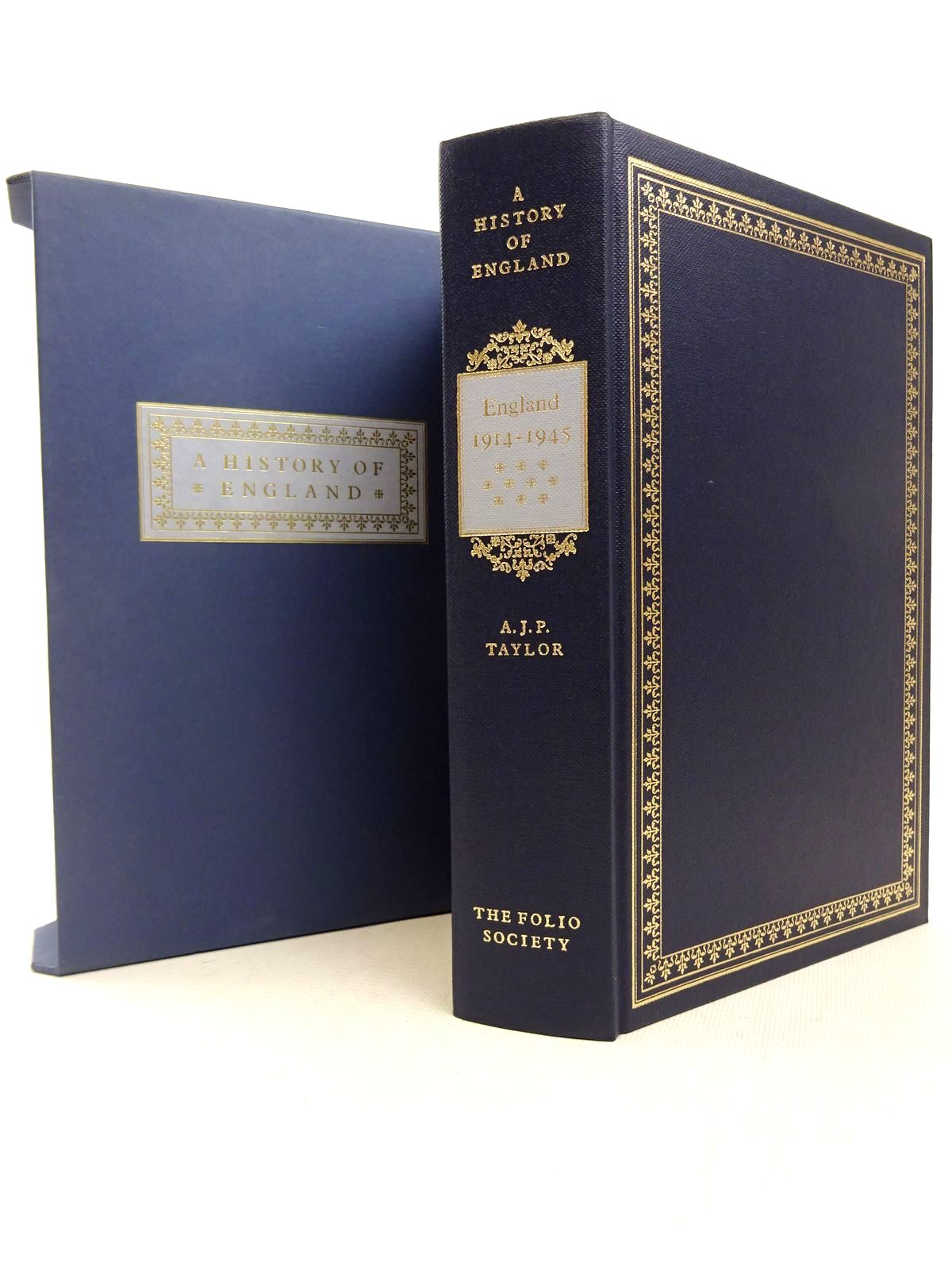 Photo of ENGLAND 1914-1945 written by Taylor, A.J.P. published by Folio Society (STOCK CODE: 1816961)  for sale by Stella & Rose's Books