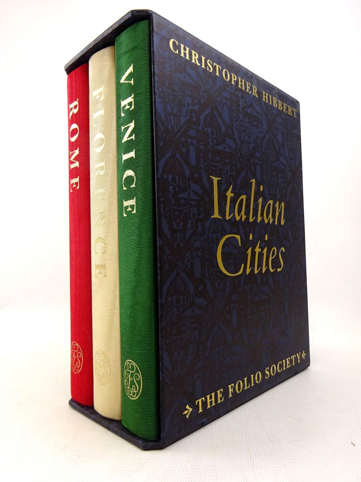 Photo of ITALIAN CITIES written by Hibbert, Christopher published by Folio Society (STOCK CODE: 1816967)  for sale by Stella & Rose's Books
