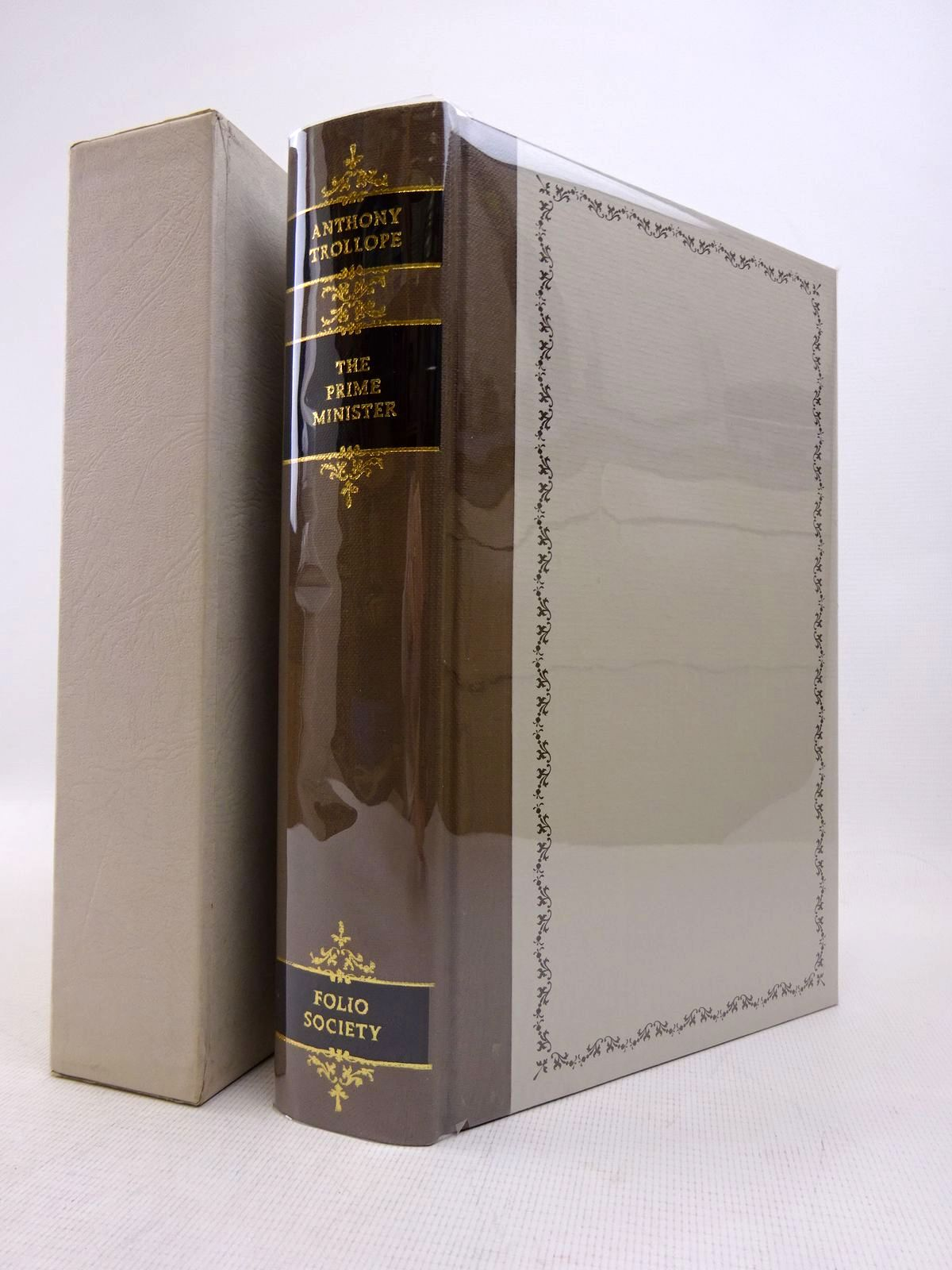 Photo of THE PRIME MINISTER written by Trollope, Anthony illustrated by Thomas, Llewellyn published by Folio Society (STOCK CODE: 1816981)  for sale by Stella & Rose's Books