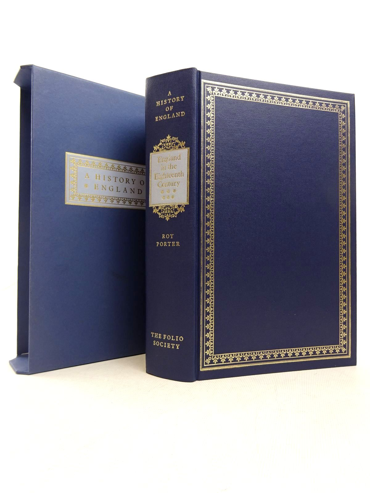 Photo of ENGLAND IN THE EIGHTEENTH CENTURY written by Porter, Roy published by Folio Society (STOCK CODE: 1816987)  for sale by Stella & Rose's Books