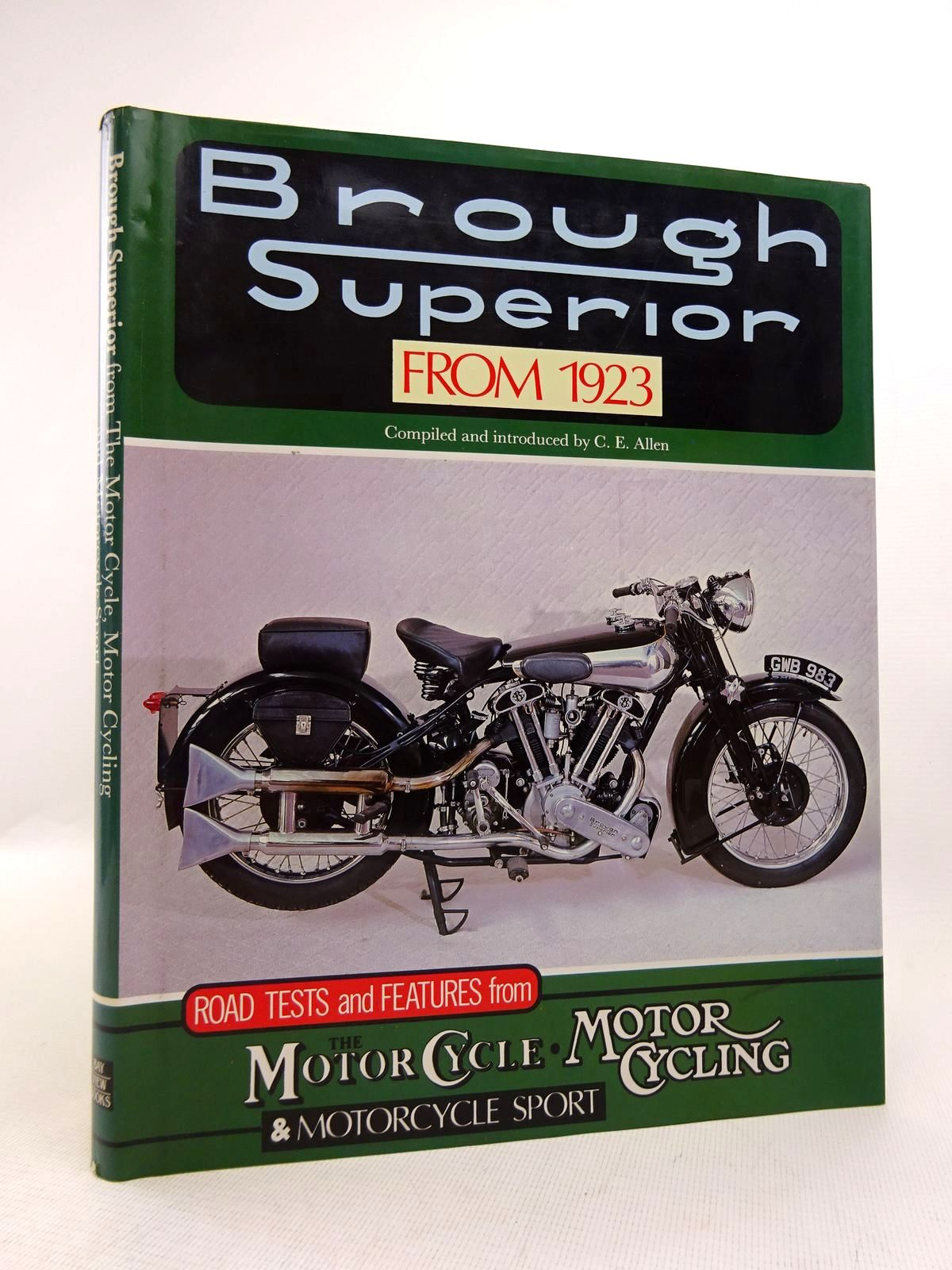 Photo of BROUGH SUPERIOR FROM 1923 written by Allen, C.E. published by Bay View Books (STOCK CODE: 1817000)  for sale by Stella & Rose's Books