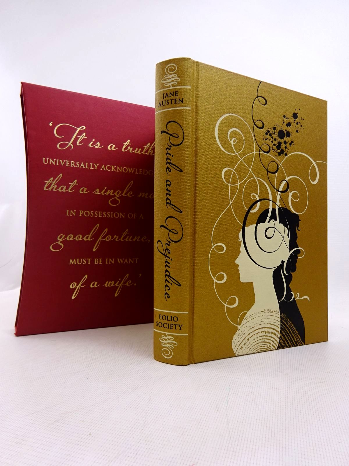 Photo of PRIDE AND PREJUDICE written by Austen, Jane illustrated by Balbusso, Anna<br />Balbusso, Elena published by Folio Society (STOCK CODE: 1817021)  for sale by Stella & Rose's Books