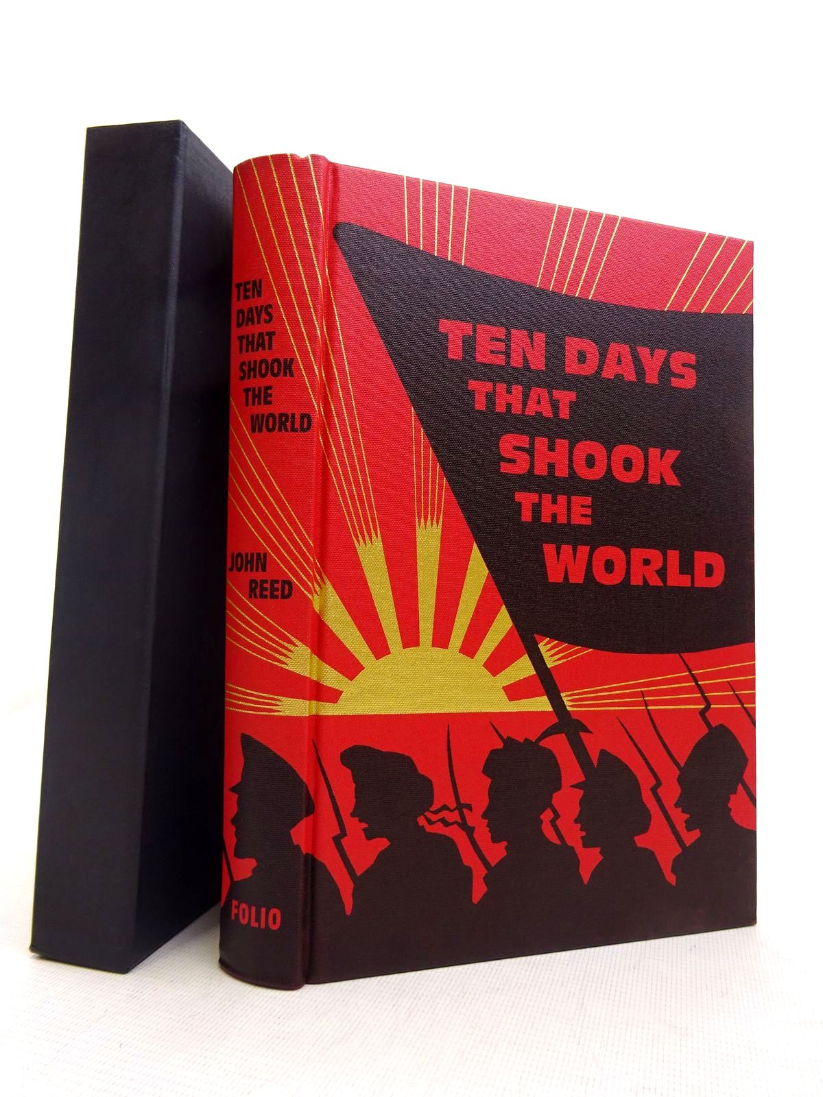 Photo of TEN DAYS THAT SHOOK THE WORLD written by Reed, John published by Folio Society (STOCK CODE: 1817027)  for sale by Stella & Rose's Books