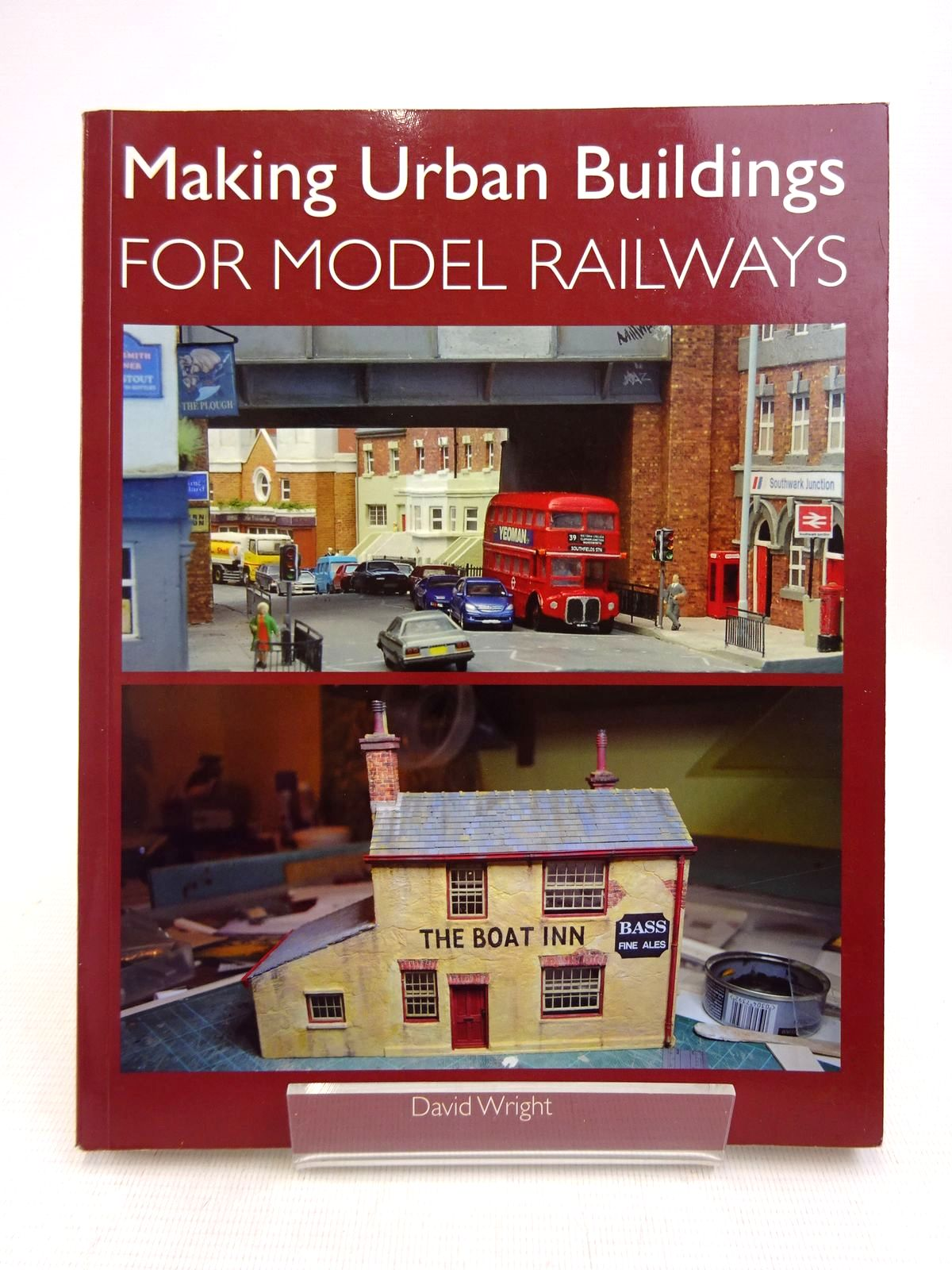 Photo of MAKING URBAN BUILDINGS FOR MODEL RAILWAYS written by Wright, David published by The Crowood Press (STOCK CODE: 1817041)  for sale by Stella & Rose's Books