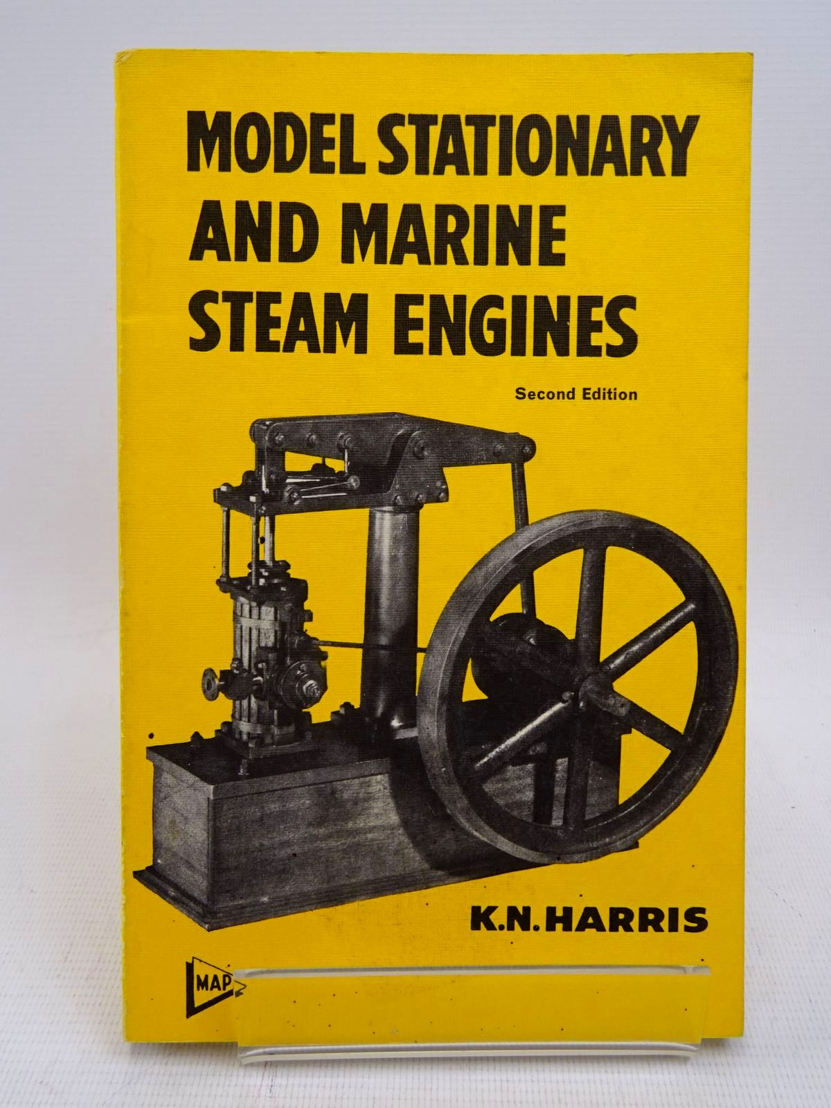Photo of MODEL STATIONARY AND MARINE STEAM ENGINES written by Harris, K.N. published by Model & Allied Publications Ltd. (STOCK CODE: 1817054)  for sale by Stella & Rose's Books