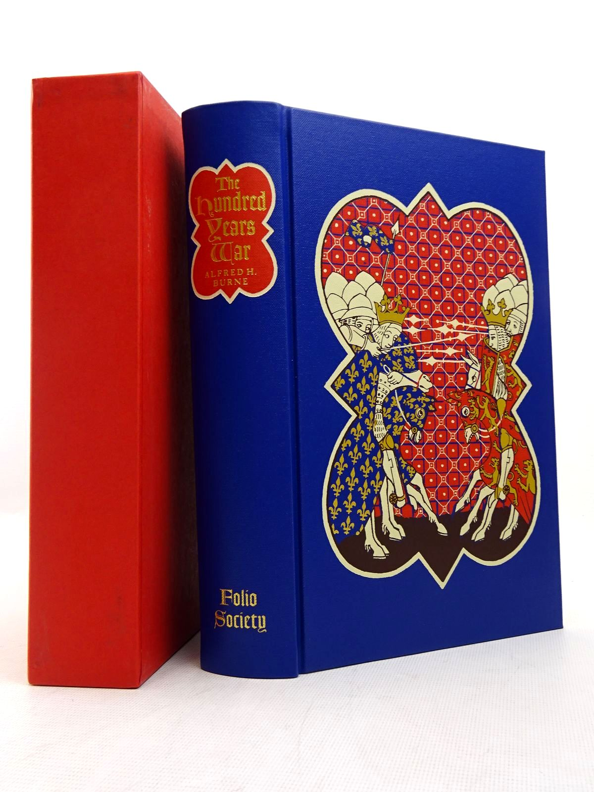 Photo of THE HUNDRED YEARS WAR written by Burne, Alfred H.<br />Sumption, Jonathan published by Folio Society (STOCK CODE: 1817076)  for sale by Stella & Rose's Books