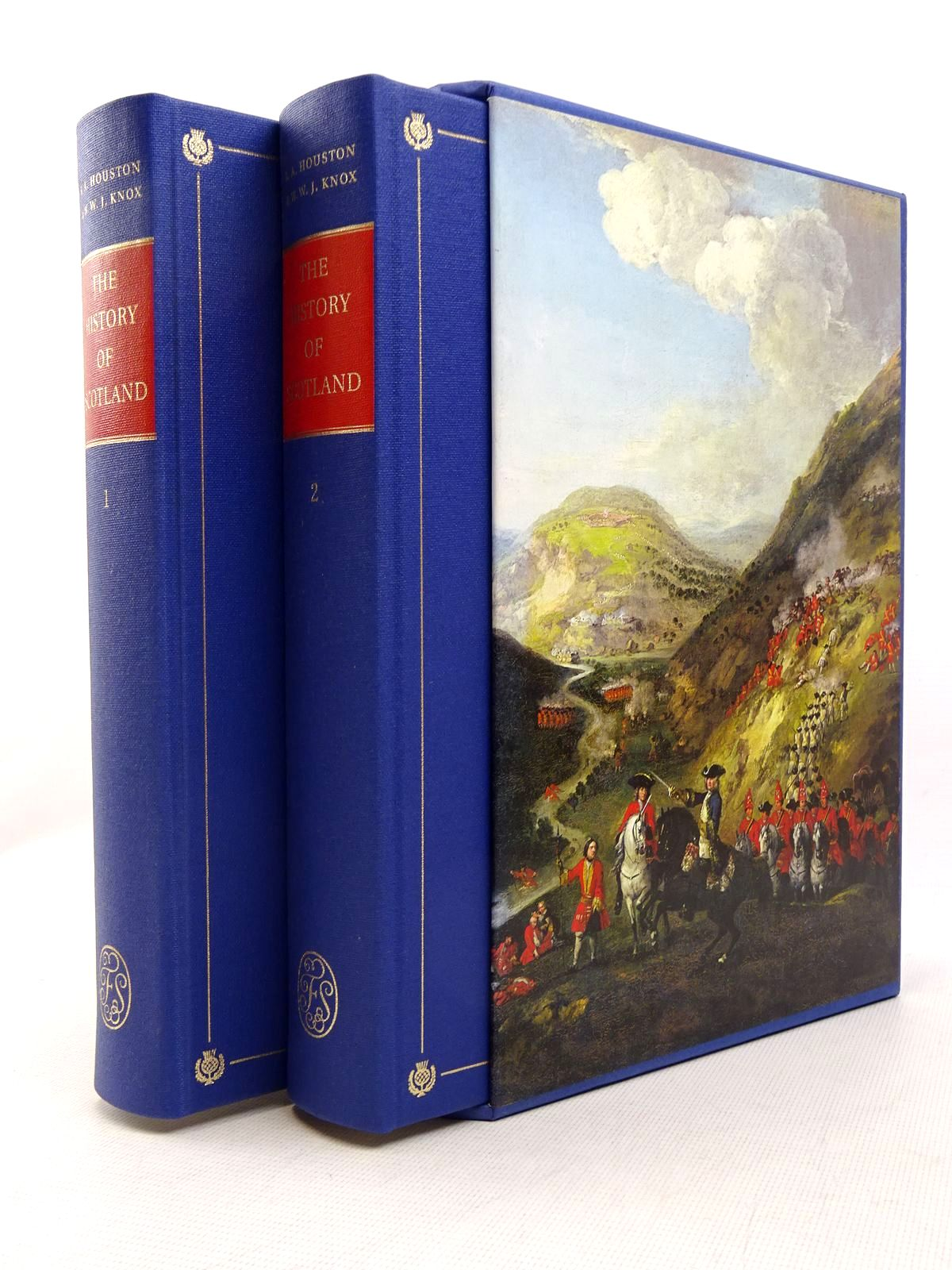 Photo of THE HISTORY OF SCOTLAND FROM THE EARLIEST TIMES TO THE PRESENT DAY (2 VOLUMES) written by Houston, R.A.<br />Knox, W.W.J. published by Folio Society (STOCK CODE: 1817153)  for sale by Stella & Rose's Books