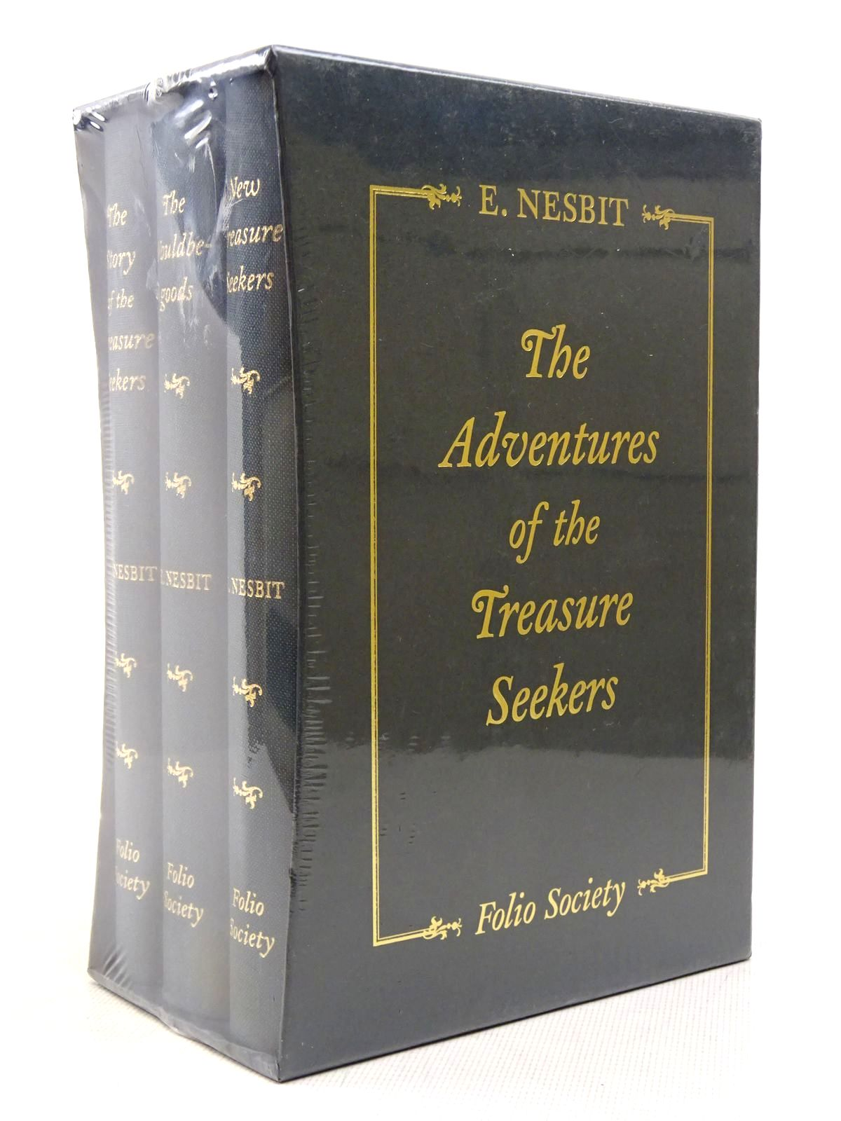 Photo of THE ADVENTURES OF THE TREASURE SEEKERS (3 VOLUMES) written by Nesbit, E. illustrated by Hodges, C. Walter published by Folio Society (STOCK CODE: 1817154)  for sale by Stella & Rose's Books