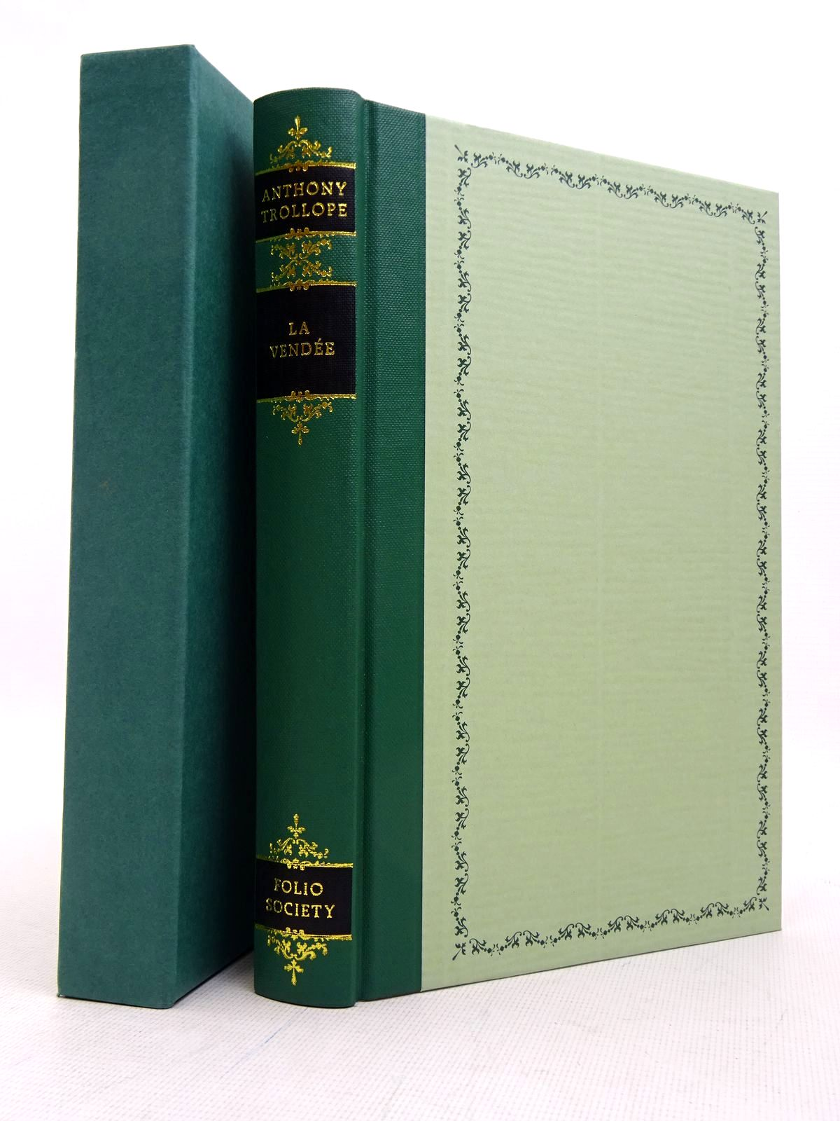 Photo of LA VENDEE: AN HISTORICAL ROMANCE written by Trollope, Anthony illustrated by Bellwood, Shirley published by Folio Society (STOCK CODE: 1817205)  for sale by Stella & Rose's Books