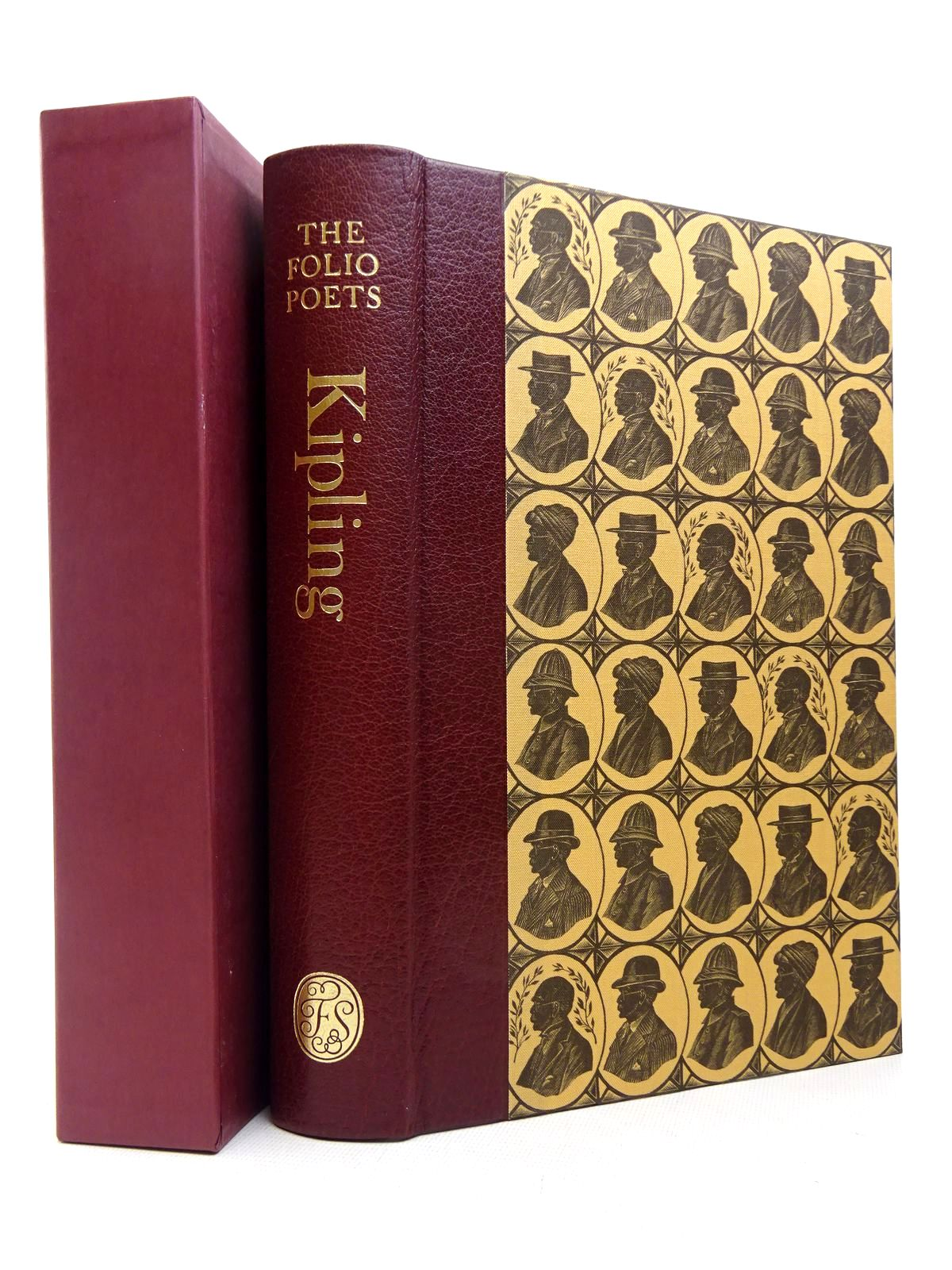 Photo of RUDYARD KIPLING SELECTED POEMS written by Kipling, Rudyard<br />Lycett, Andrew illustrated by Tute, George published by Folio Society (STOCK CODE: 1817215)  for sale by Stella & Rose's Books