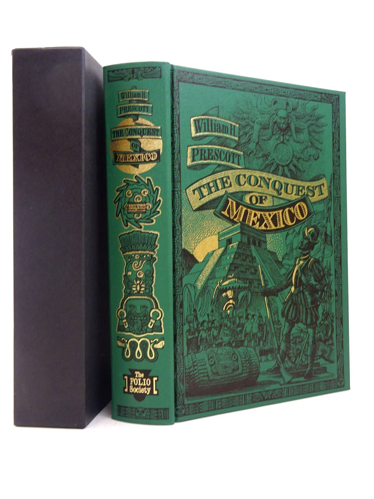 Photo of HISTORY OF THE CONQUEST OF MEXICO written by Prescott, William H. published by Folio Society (STOCK CODE: 1817229)  for sale by Stella & Rose's Books