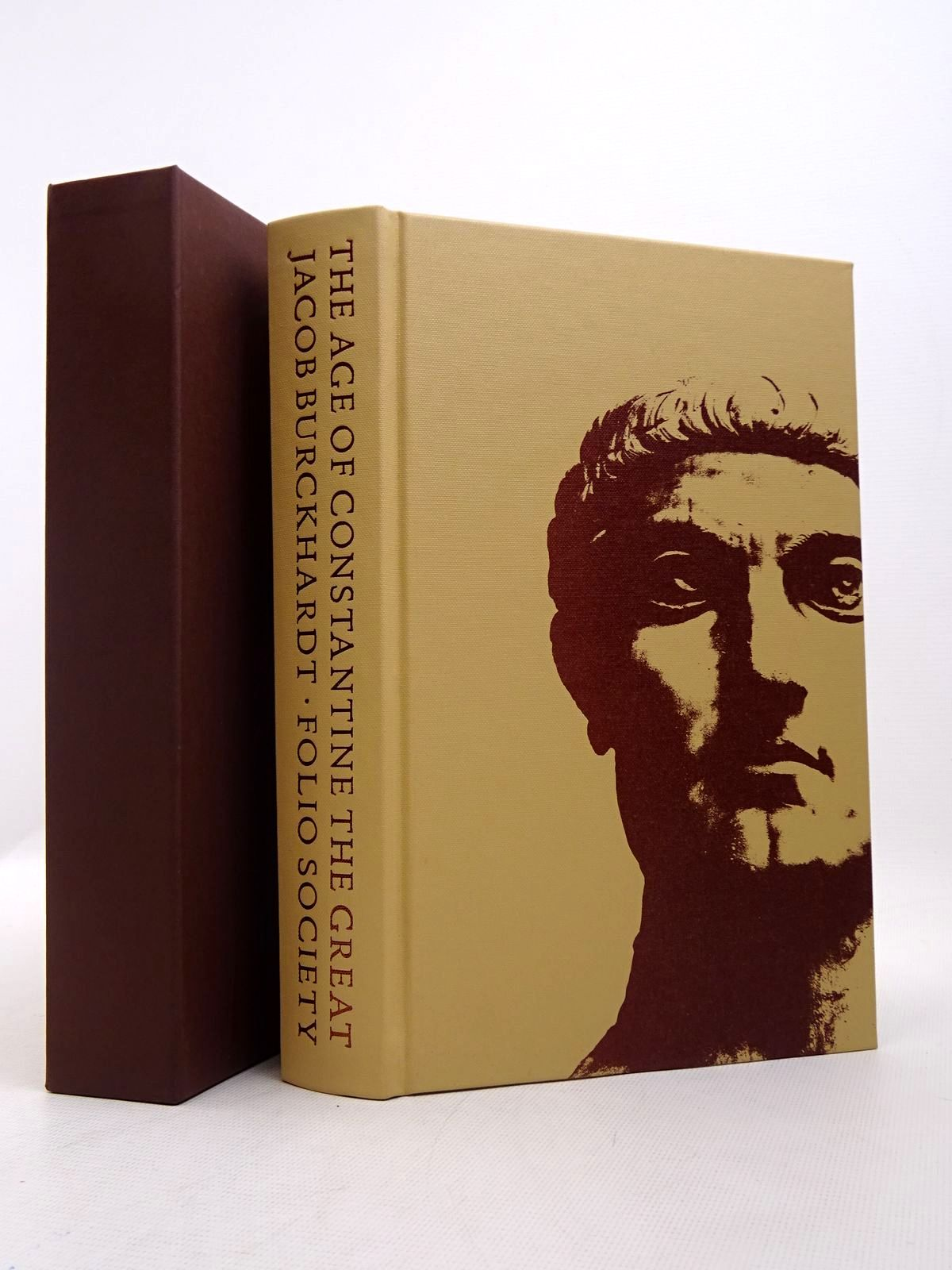 Photo of THE AGE OF CONSTANTINE THE GREAT written by Burckhardt, Jacob published by Folio Society (STOCK CODE: 1817251)  for sale by Stella & Rose's Books