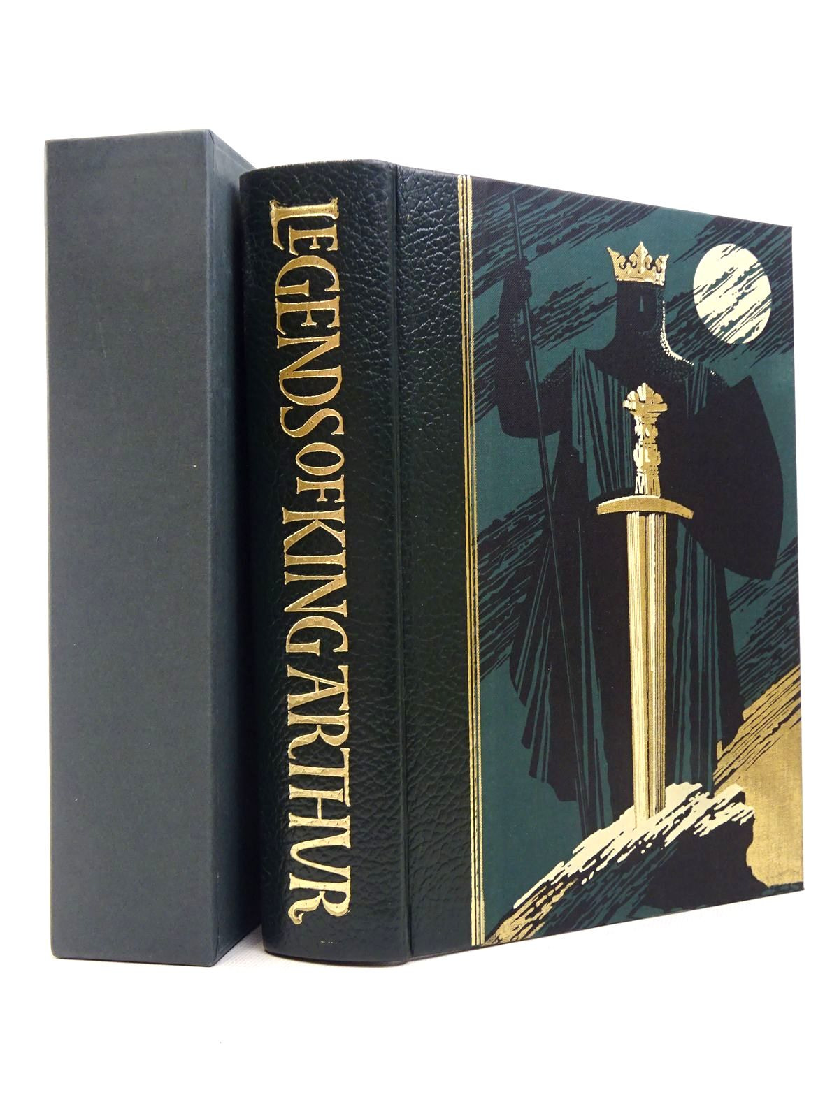Photo of LEGENDS OF KING ARTHUR written by Barber, Richard illustrated by Pisarev, Roman published by Folio Society (STOCK CODE: 1817257)  for sale by Stella & Rose's Books