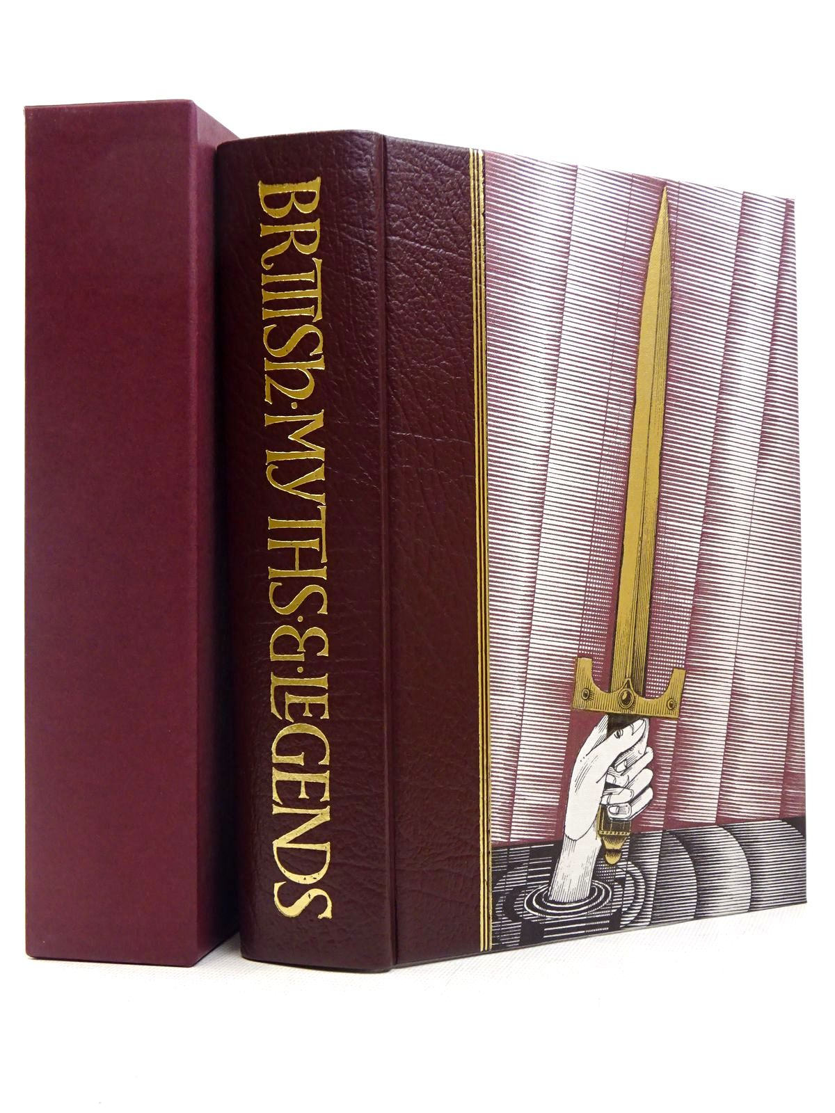 Photo of BRITISH MYTHS & LEGENDS written by Barber, Richard illustrated by Lord, John Vernon published by Folio Society (STOCK CODE: 1817266)  for sale by Stella & Rose's Books