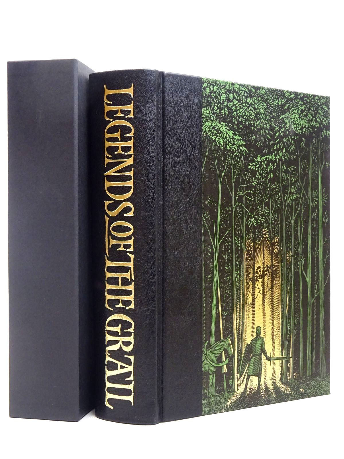 Photo of LEGENDS OF THE GRAIL written by Barber, Richard illustrated by Brett, Simon published by Folio Society (STOCK CODE: 1817268)  for sale by Stella & Rose's Books