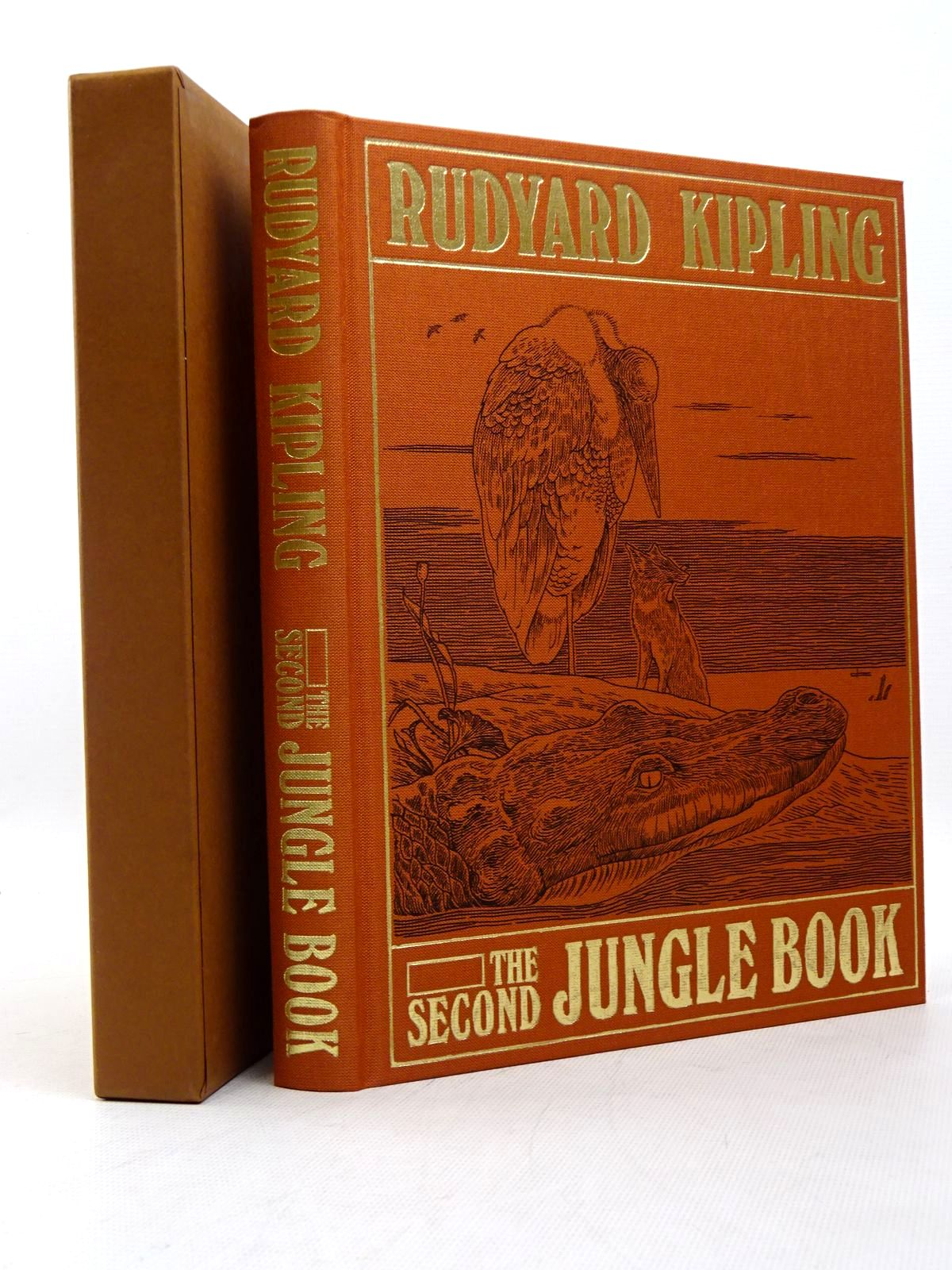 Photo of THE SECOND JUNGLE BOOK written by Kipling, Rudyard illustrated by Detmold, Edward J.<br />Eccles, David published by Folio Society (STOCK CODE: 1817279)  for sale by Stella & Rose's Books