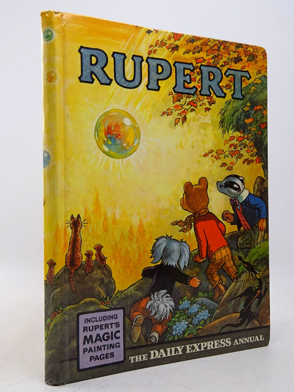 Photo of RUPERT ANNUAL 1968 written by Bestall, Alfred illustrated by Bestall, Alfred published by Daily Express (STOCK CODE: 1817303)  for sale by Stella & Rose's Books