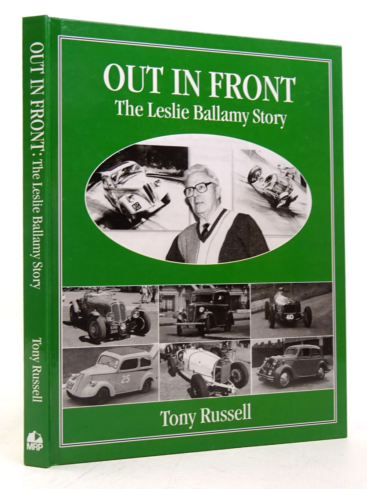 Photo of OUT IN FRONT: THE LESLIE BALLAMY STORY written by Russell, Tony published by MRP (STOCK CODE: 1817314)  for sale by Stella & Rose's Books