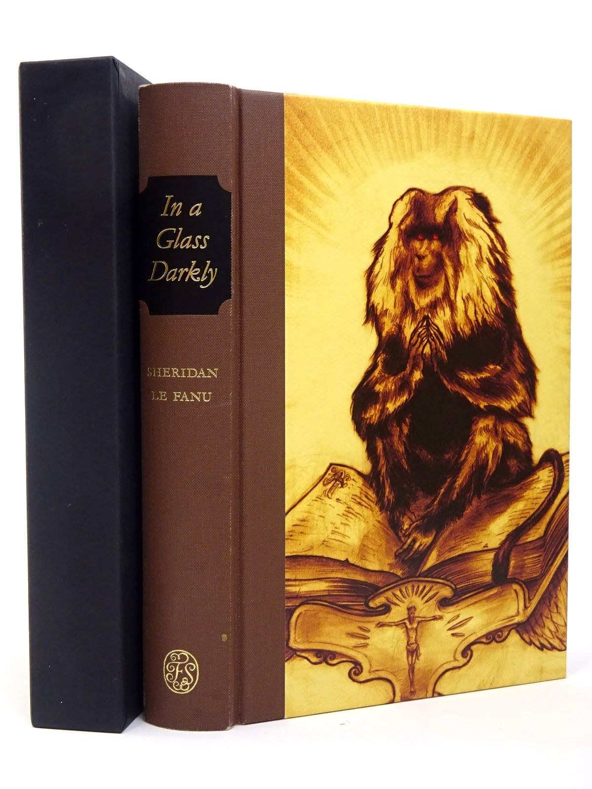 Photo of IN A GLASS DARKLY written by Le Fanu, J. Sheridan illustrated by Campbell-Notman, Finn published by Folio Society (STOCK CODE: 1817348)  for sale by Stella & Rose's Books