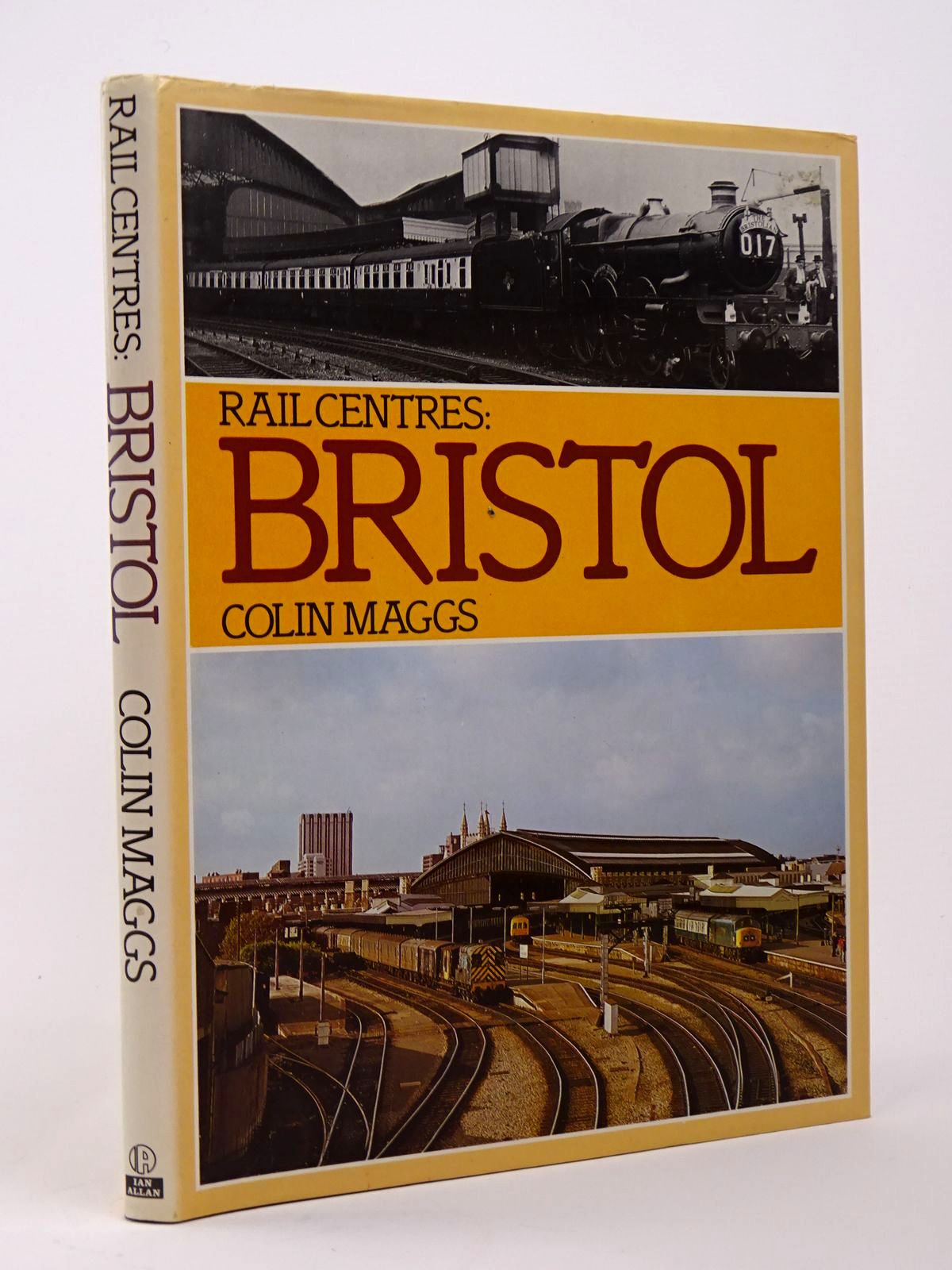 Photo of RAIL CENTRES: BRISTOL written by Maggs, Colin G. published by Ian Allan (STOCK CODE: 1817369)  for sale by Stella & Rose's Books
