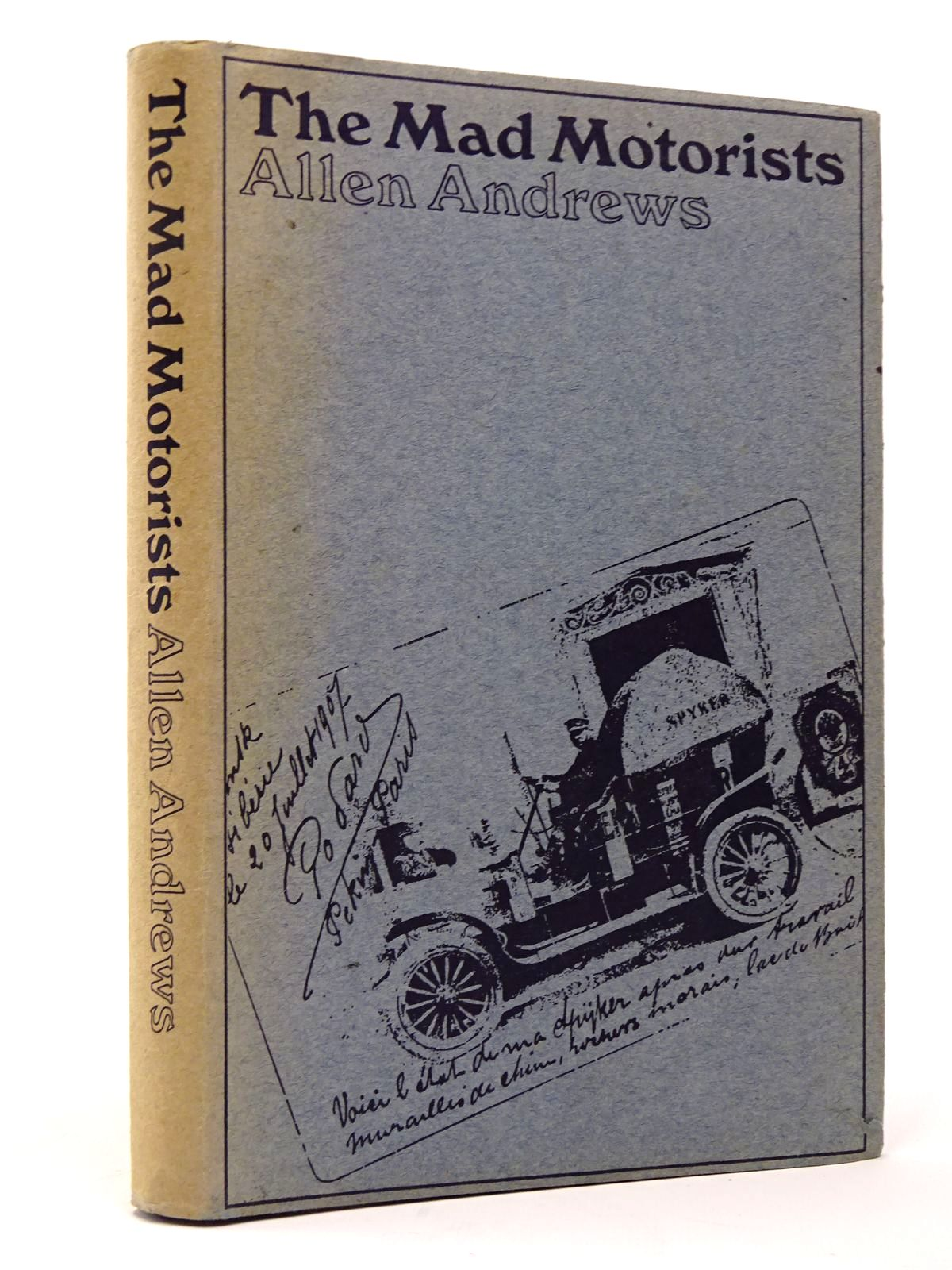 Photo of THE MAD MOTORISTS written by Andrews, Allen published by Motoraces Book Club (STOCK CODE: 1817373)  for sale by Stella & Rose's Books