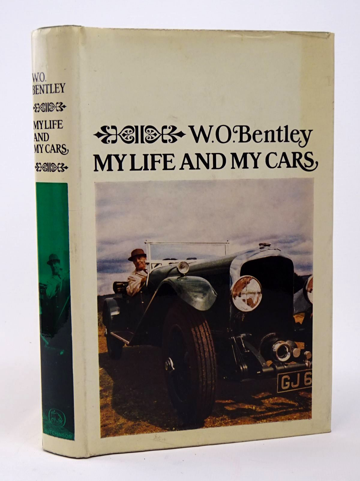 Photo of MY LIFE AND MY CARS written by Bentley, W.O. published by Hutchinson (STOCK CODE: 1817382)  for sale by Stella & Rose's Books