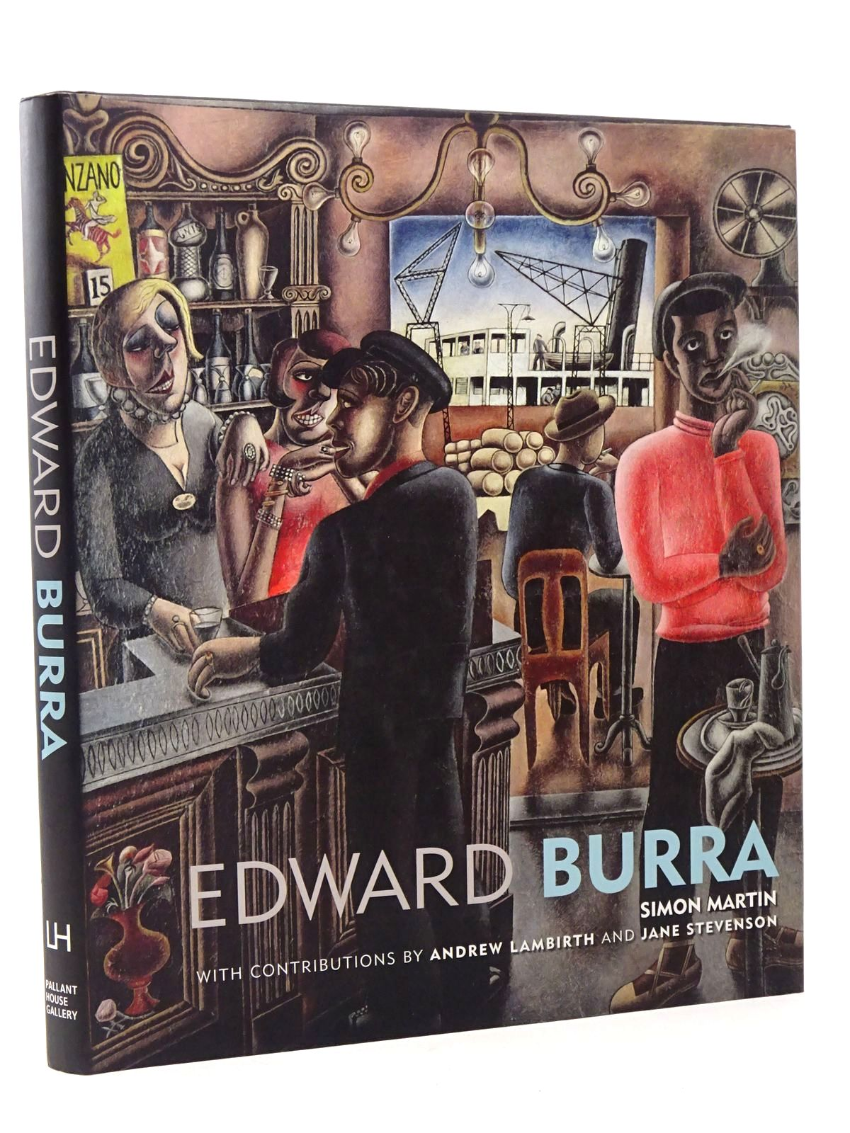 Photo of EDWARD BURRA written by Martin, Simon illustrated by Burra, Edward published by Lund Humphries (STOCK CODE: 1817400)  for sale by Stella & Rose's Books