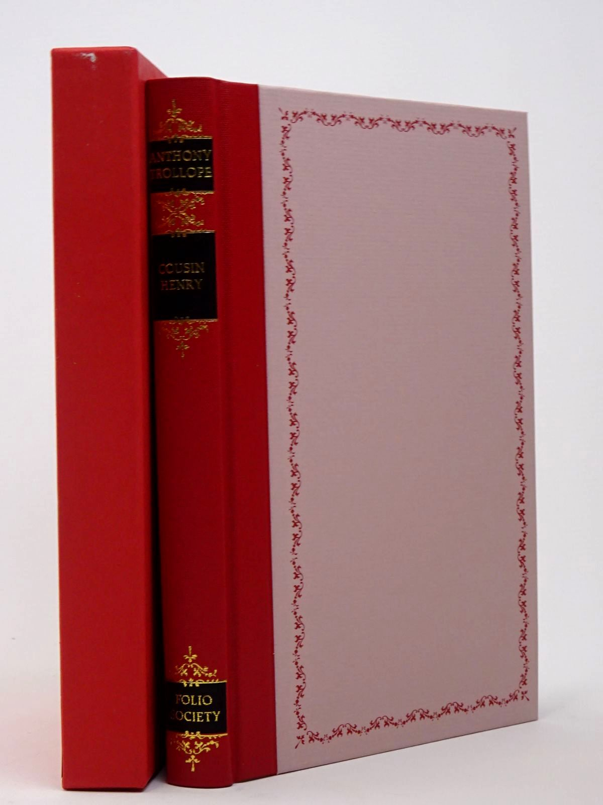 Photo of COUSIN HENRY written by Trollope, Anthony illustrated by Mosley, Francis published by Folio Society (STOCK CODE: 1817414)  for sale by Stella & Rose's Books