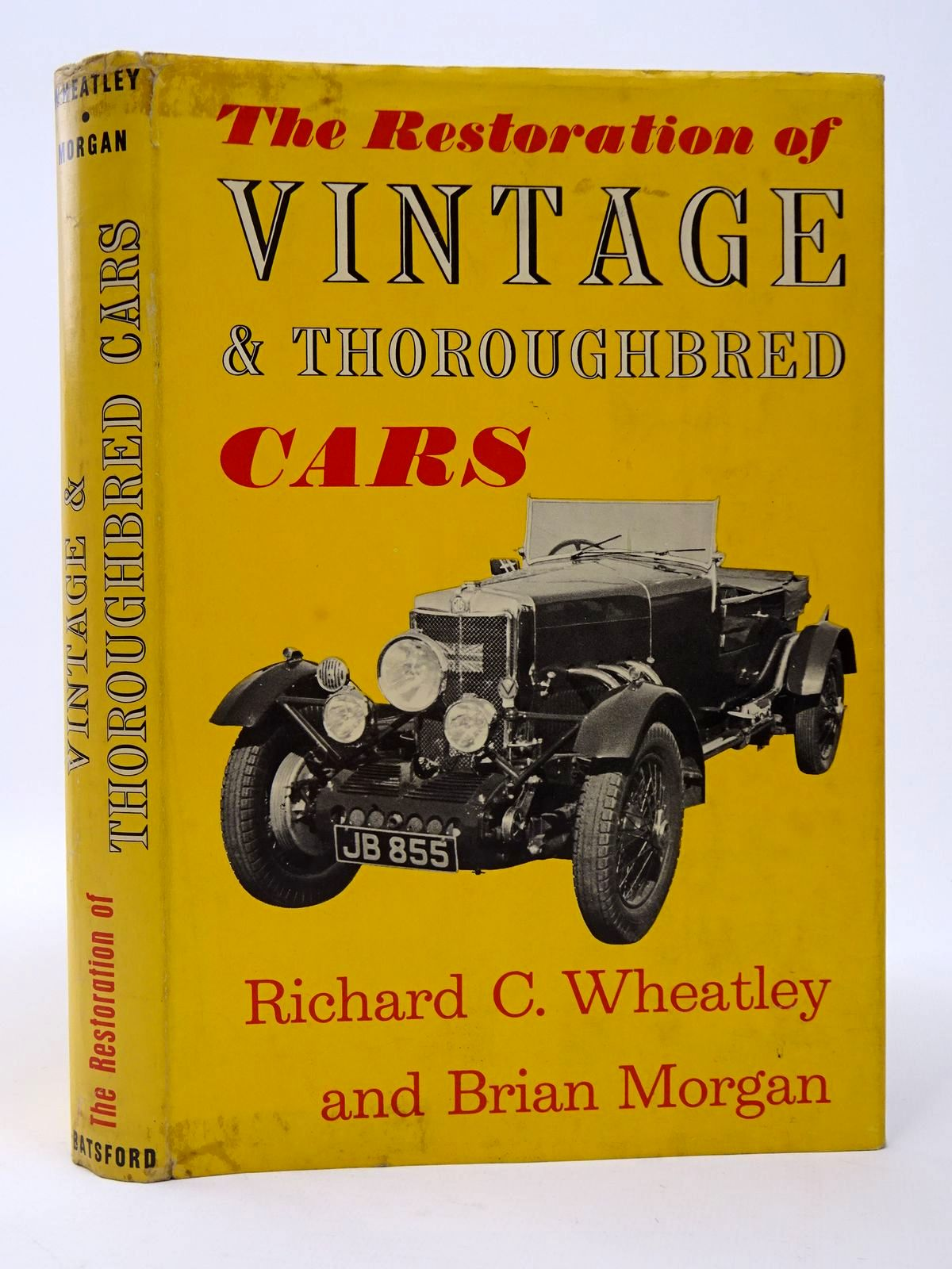 Photo of THE RESTORATION OF VINTAGE AND THOROUGHBRED CARS written by Wheatley, Richard C.<br />Morgan, Bryan illustrated by Neale, R.F. published by B.T. Batsford (STOCK CODE: 1817425)  for sale by Stella & Rose's Books