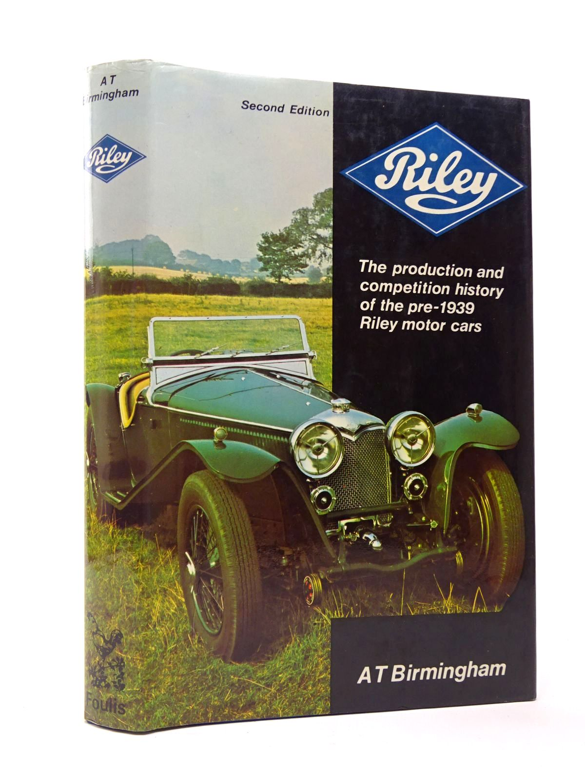 Photo of RILEY THE PRODUCTION AND COMPETITION HISTORY OF THE PRE-1939 RILEY MOTOR CARS. written by Birmingham, A.T. published by G.T. Foulis & Co. Ltd. (STOCK CODE: 1817431)  for sale by Stella & Rose's Books