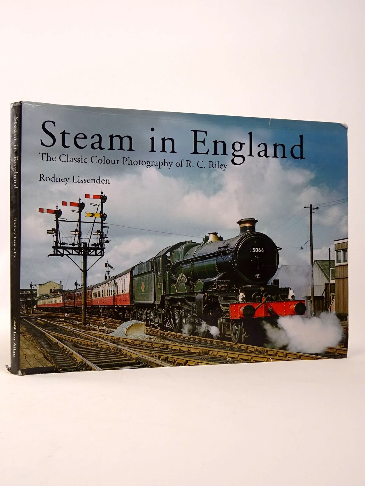 Photo of STEAM IN ENGLAND written by Lissenden, Rodney illustrated by Riley, R.C. published by Ian Allan (STOCK CODE: 1817499)  for sale by Stella & Rose's Books