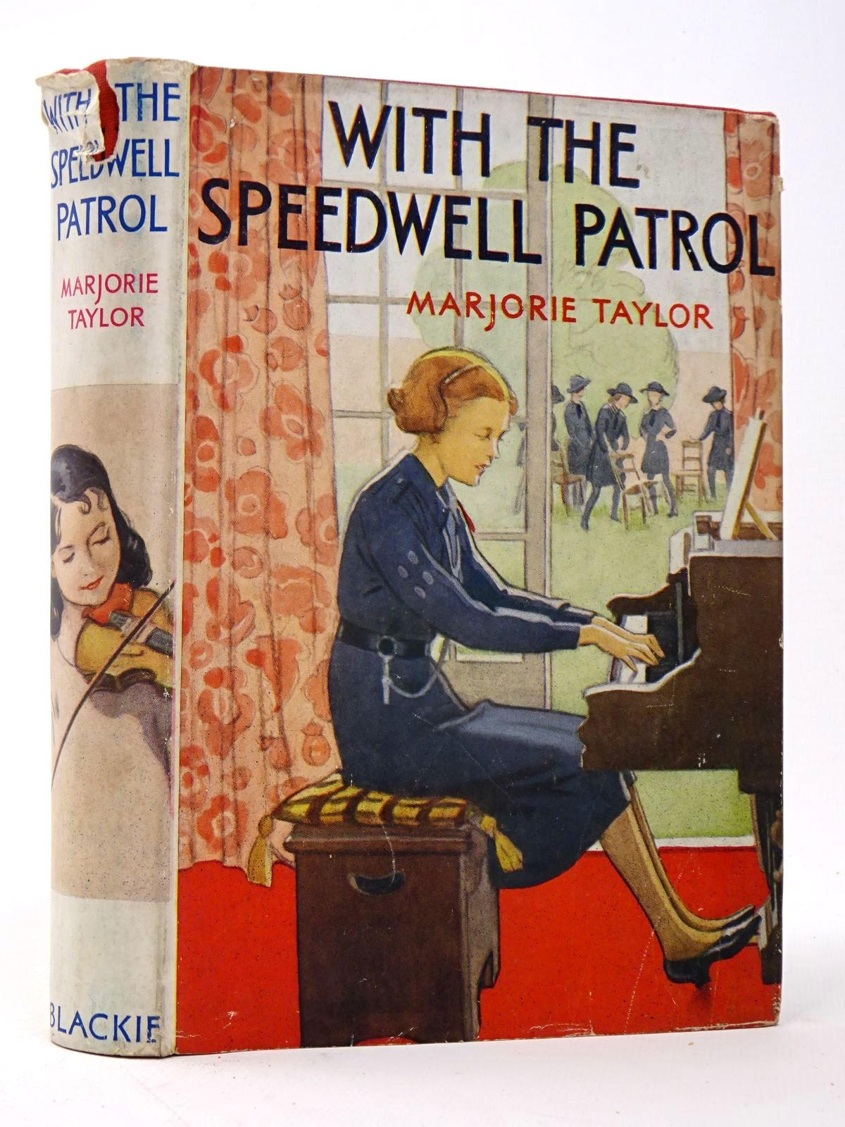 Photo of WITH THE SPEEDWELL PATROL written by Taylor, Marjorie illustrated by Topham, Inez published by Blackie & Son Ltd. (STOCK CODE: 1817519)  for sale by Stella & Rose's Books