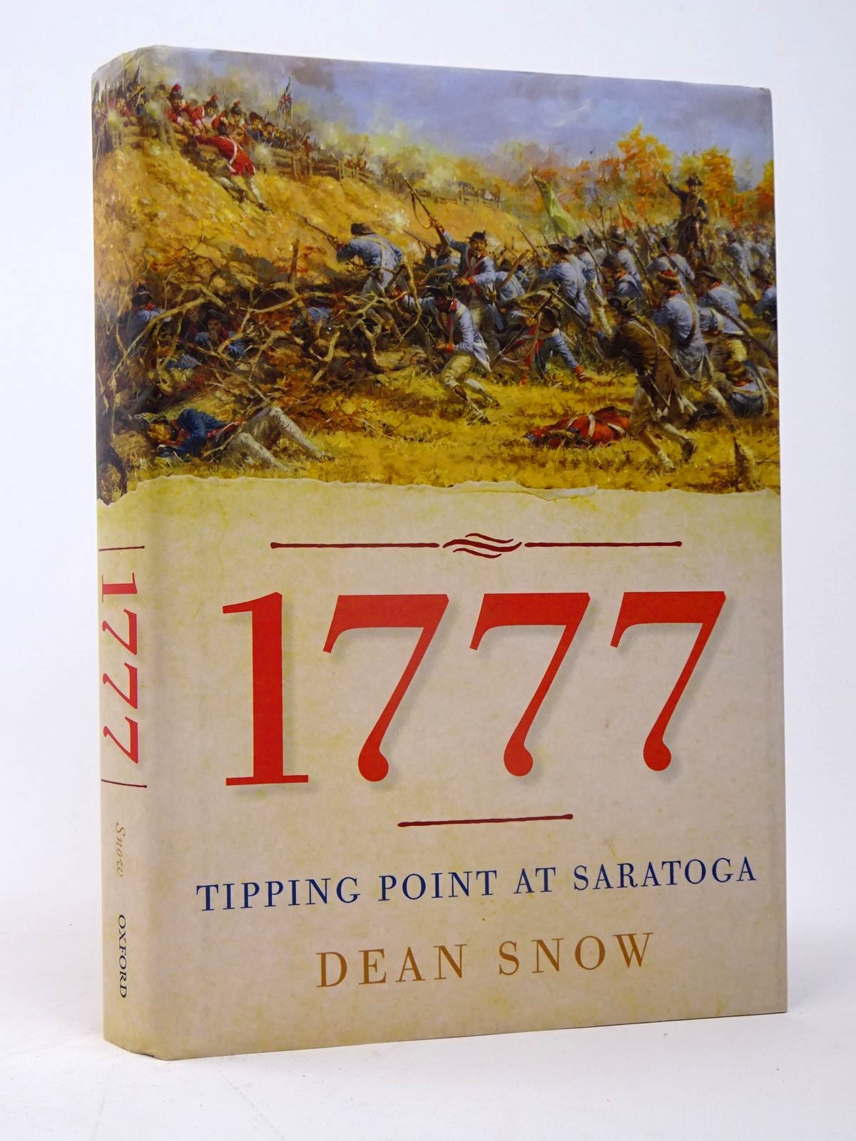 Photo of 1777: TIPPING POINT AT SARATOGA written by Snow, Dean published by Oxford University Press (STOCK CODE: 1817520)  for sale by Stella & Rose's Books