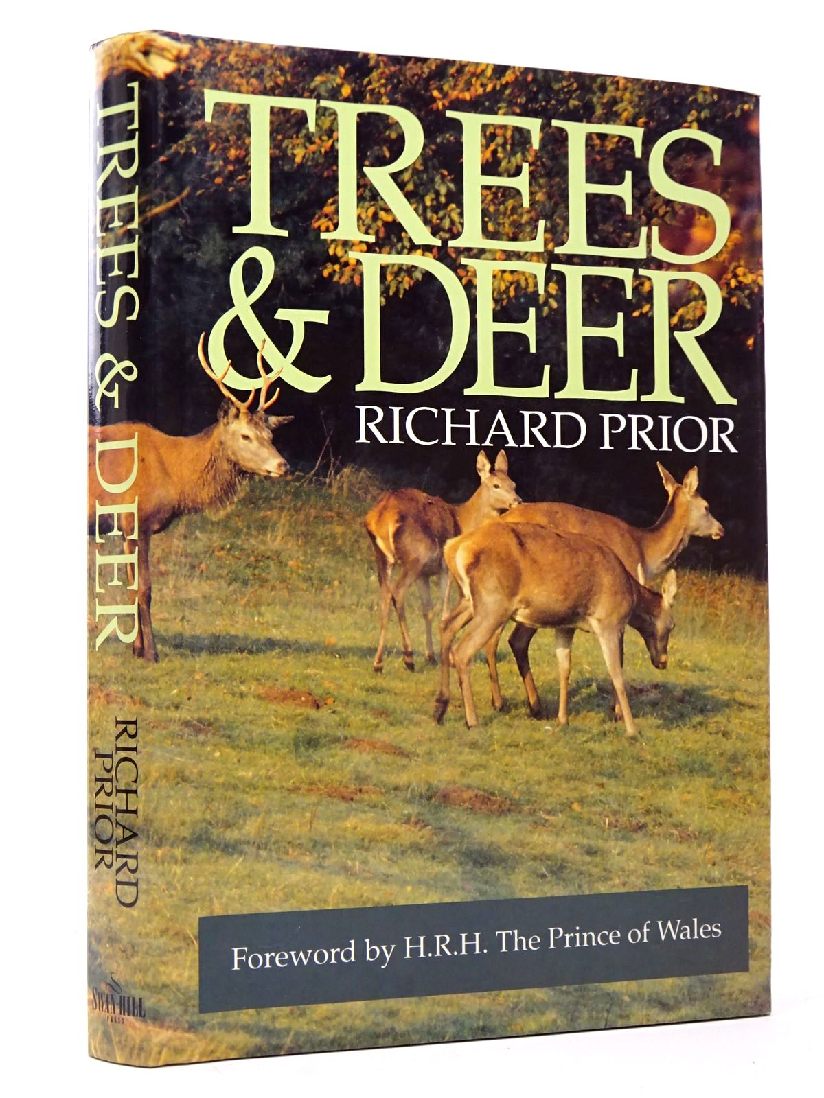 Photo of TREES & DEER: HOW TO COPE WITH DEER IN FOREST, FIELD AND GARDEN written by Prior, Richard illustrated by Edrup, Jeppe published by Swan Hill Press (STOCK CODE: 1817540)  for sale by Stella & Rose's Books