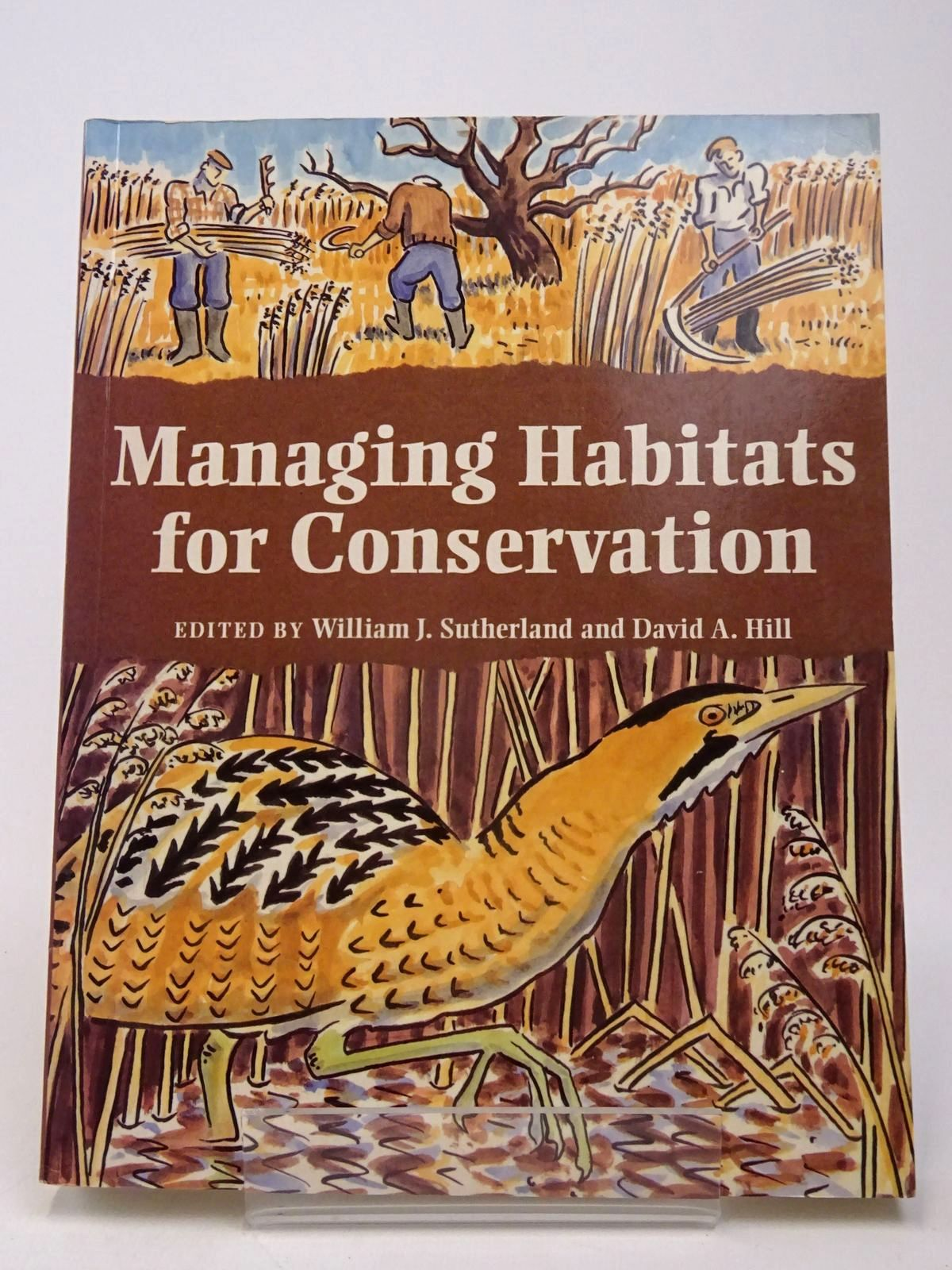 Photo of MANAGING HABITATS FOR CONSERVATION written by Sutherland, William J.<br />Hill, David A. published by Press Syndicate Of The University Of Cambridge (STOCK CODE: 1817545)  for sale by Stella & Rose's Books