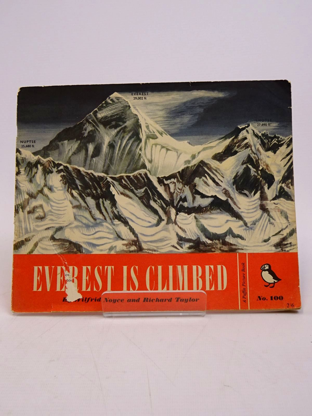 Photo of EVEREST IS CLIMBED written by Noyce, Wilfrid illustrated by Taylor, Richard published by Penguin (STOCK CODE: 1817582)  for sale by Stella & Rose's Books
