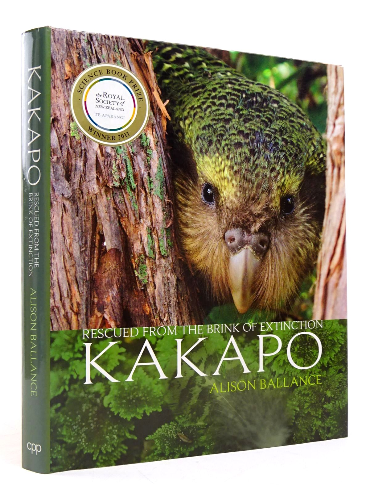 Photo of KAKAPO: RESCUED FROM THE BRINK OF EXTINCTION written by Ballance, Alison published by Craig Potton Publishing (STOCK CODE: 1817584)  for sale by Stella & Rose's Books