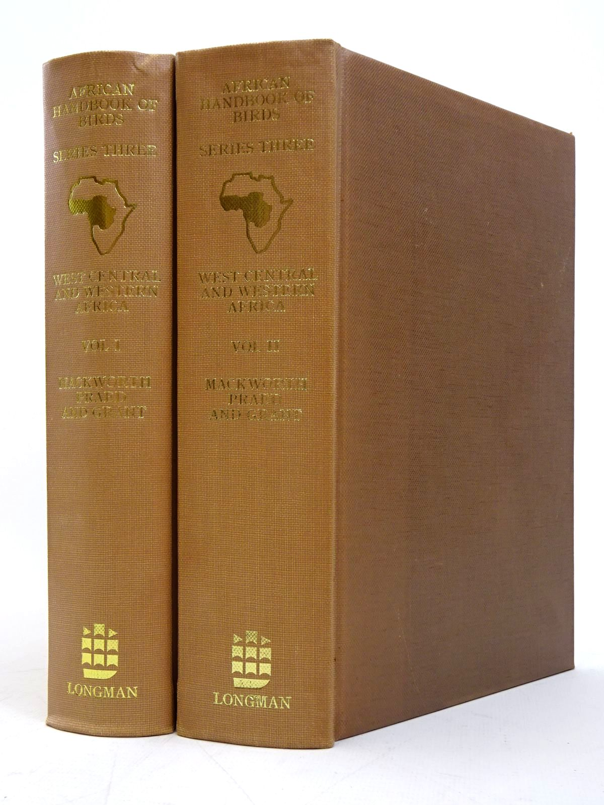 Photo of BIRDS OF WEST CENTRAL AND WESTERN AFRICA (AFRICAN HANDBOOK OF BIRDS SERIES THREE) written by Mackworth-Praed, C.W.<br />Grant, C.H.B. published by Longman (STOCK CODE: 1817596)  for sale by Stella & Rose's Books