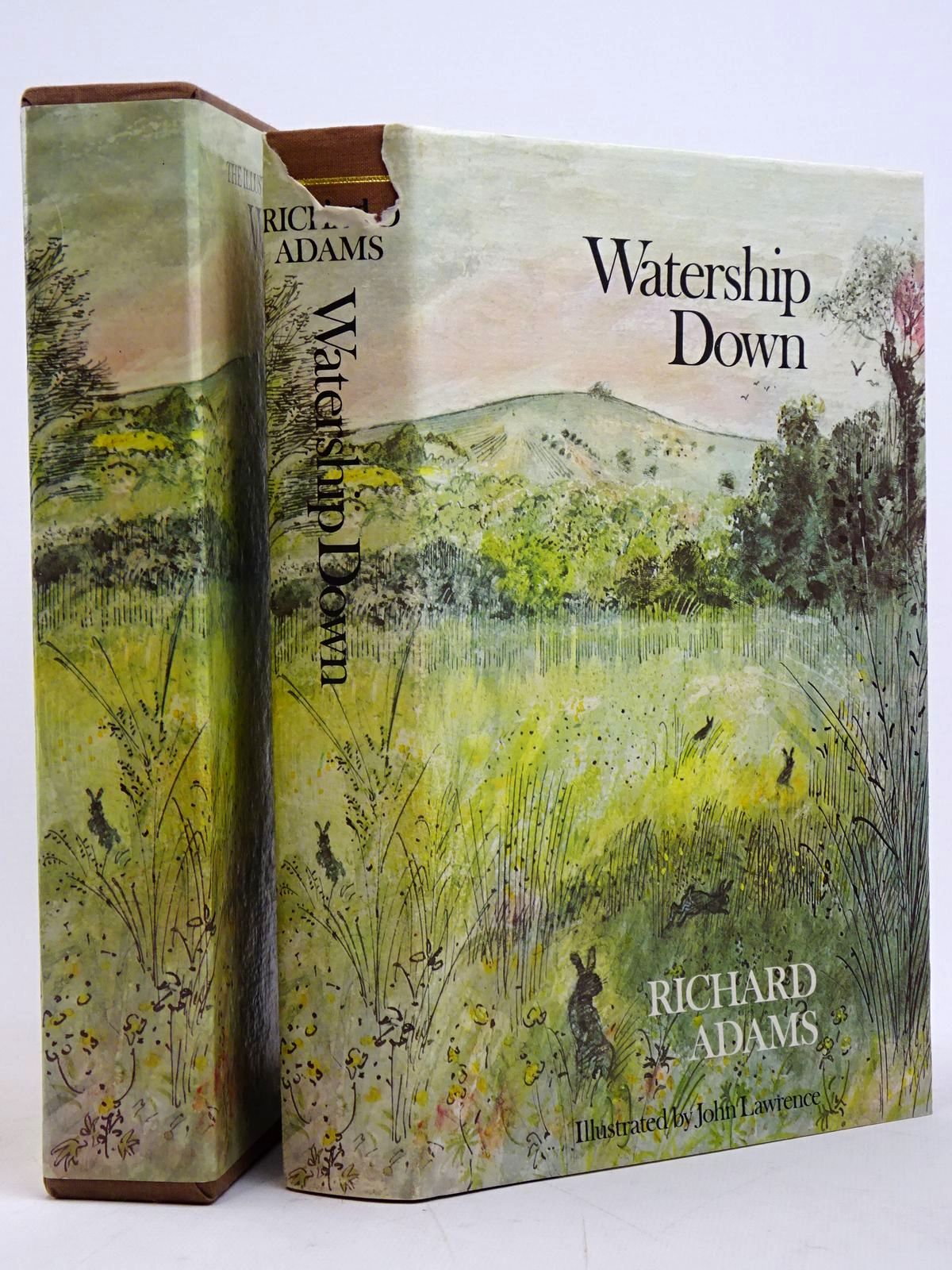 Photo of WATERSHIP DOWN written by Adams, Richard illustrated by Lawrence, John published by Penguin Books, Kestrel Books (STOCK CODE: 1817602)  for sale by Stella & Rose's Books