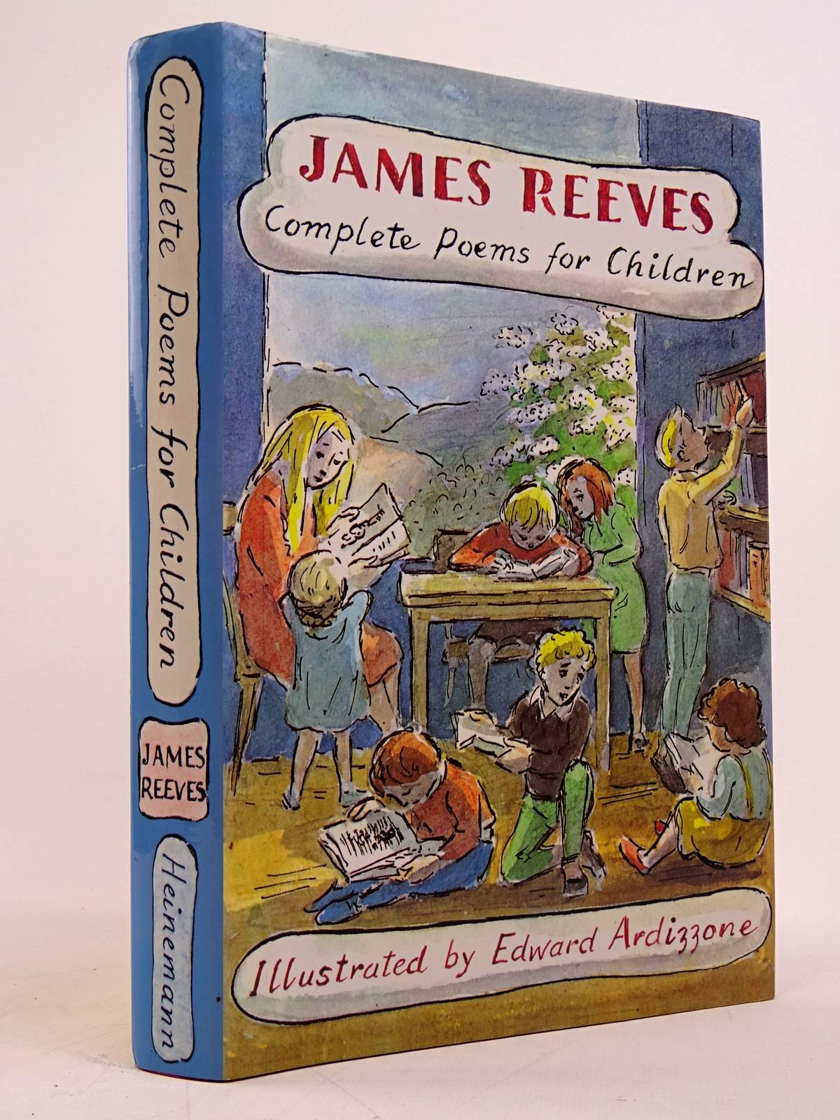 Photo of COMPLETE POEMS FOR CHILDREN written by Reeves, James illustrated by Ardizzone, Edward published by Heinemann (STOCK CODE: 1817672)  for sale by Stella & Rose's Books