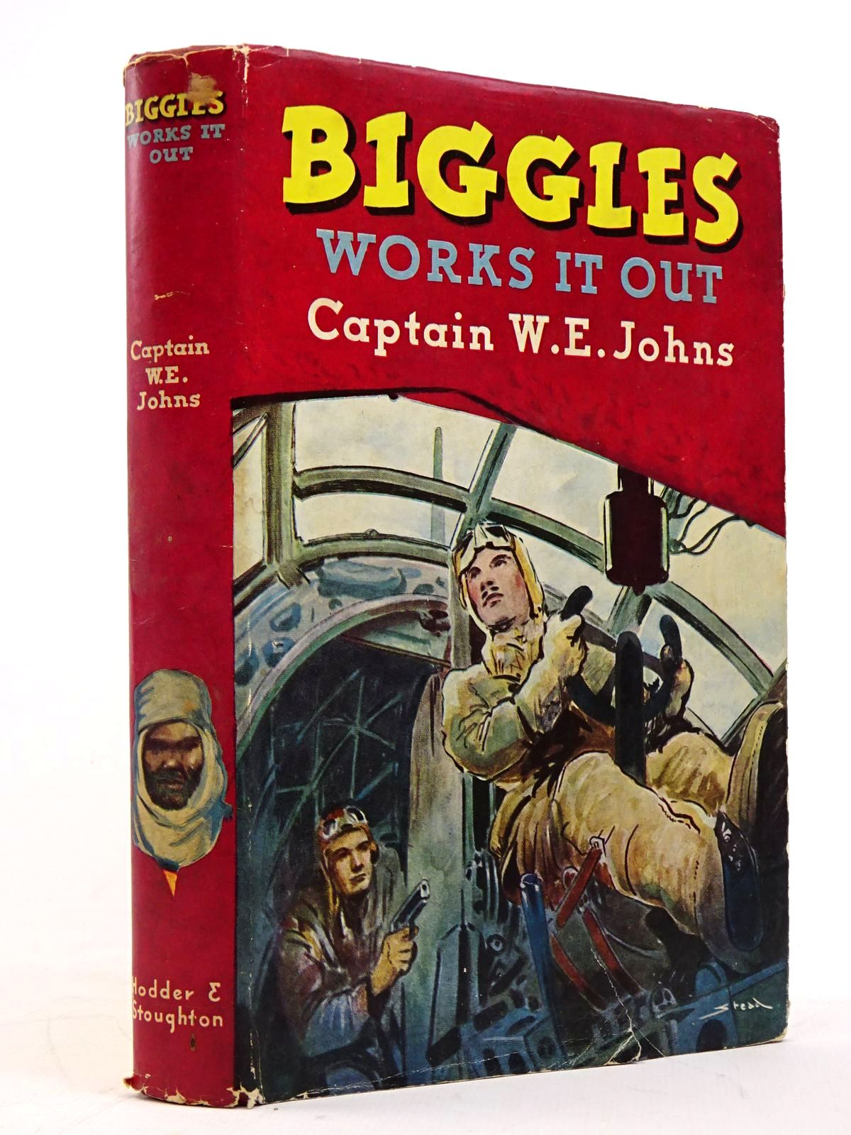 Photo of BIGGLES WORKS IT OUT written by Johns, W.E. illustrated by Stead,  published by Hodder & Stoughton (STOCK CODE: 1817679)  for sale by Stella & Rose's Books