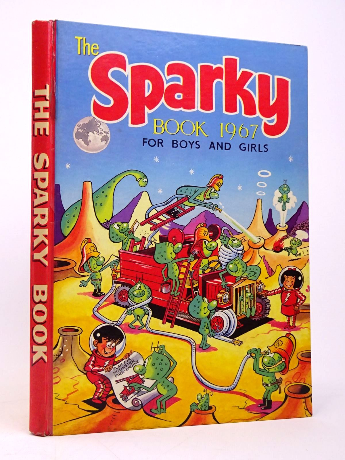 Photo of THE SPARKY BOOK 1967 published by D.C. Thomson & Co Ltd. (STOCK CODE: 1817710)  for sale by Stella & Rose's Books