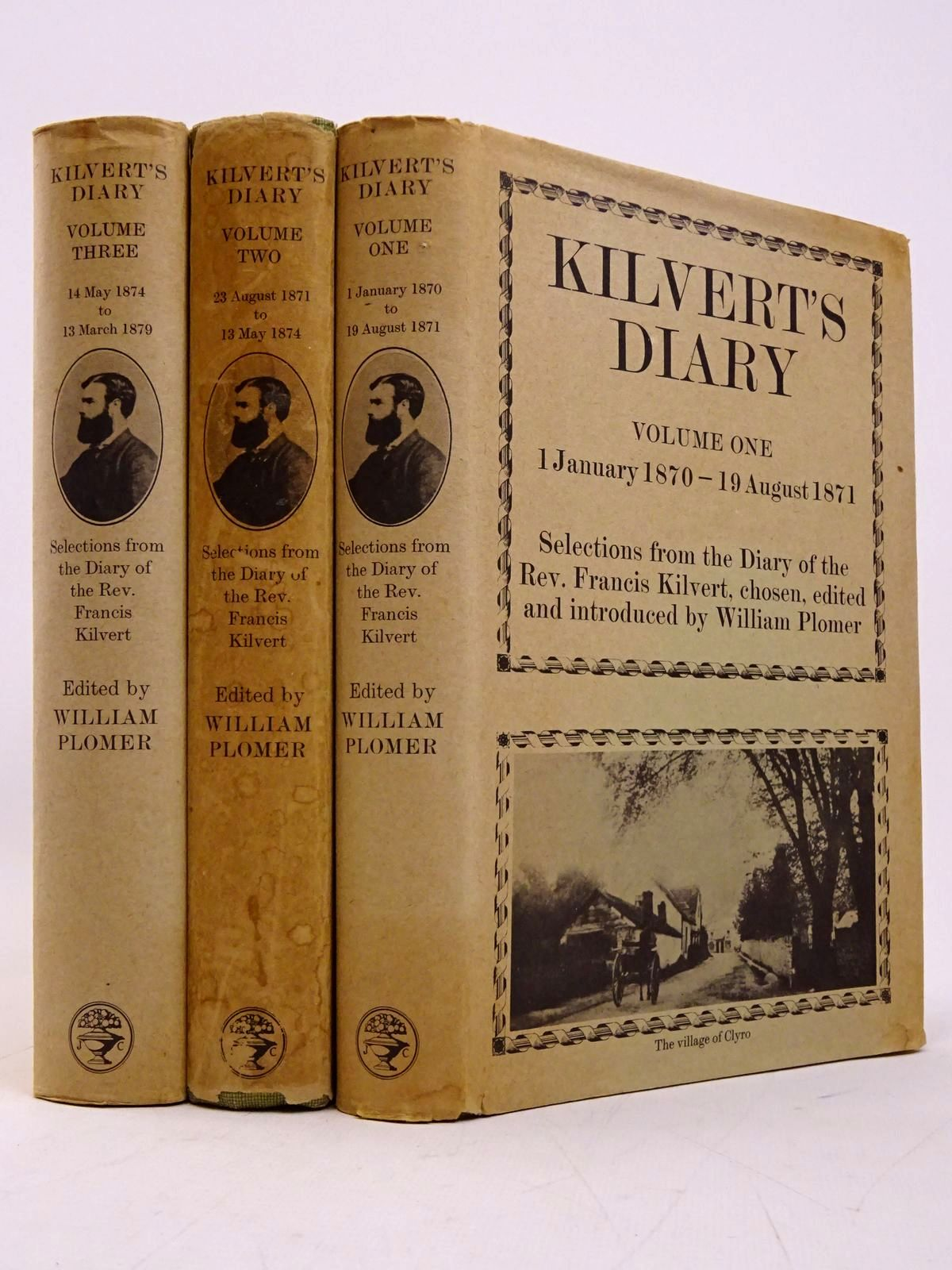 Photo of KILVERTS DIARY (3 VOLUMES) written by Kilvert, Francis published by Jonathan Cape (STOCK CODE: 1817726)  for sale by Stella & Rose's Books
