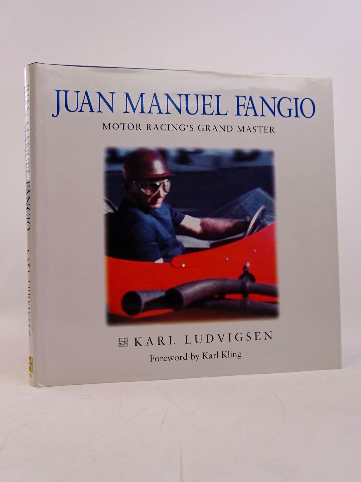 Photo of JUAN MANUEL FANGIO MOTOR RACING'S GRAND MASTER written by Ludvigsen, Karl published by Haynes (STOCK CODE: 1817775)  for sale by Stella & Rose's Books