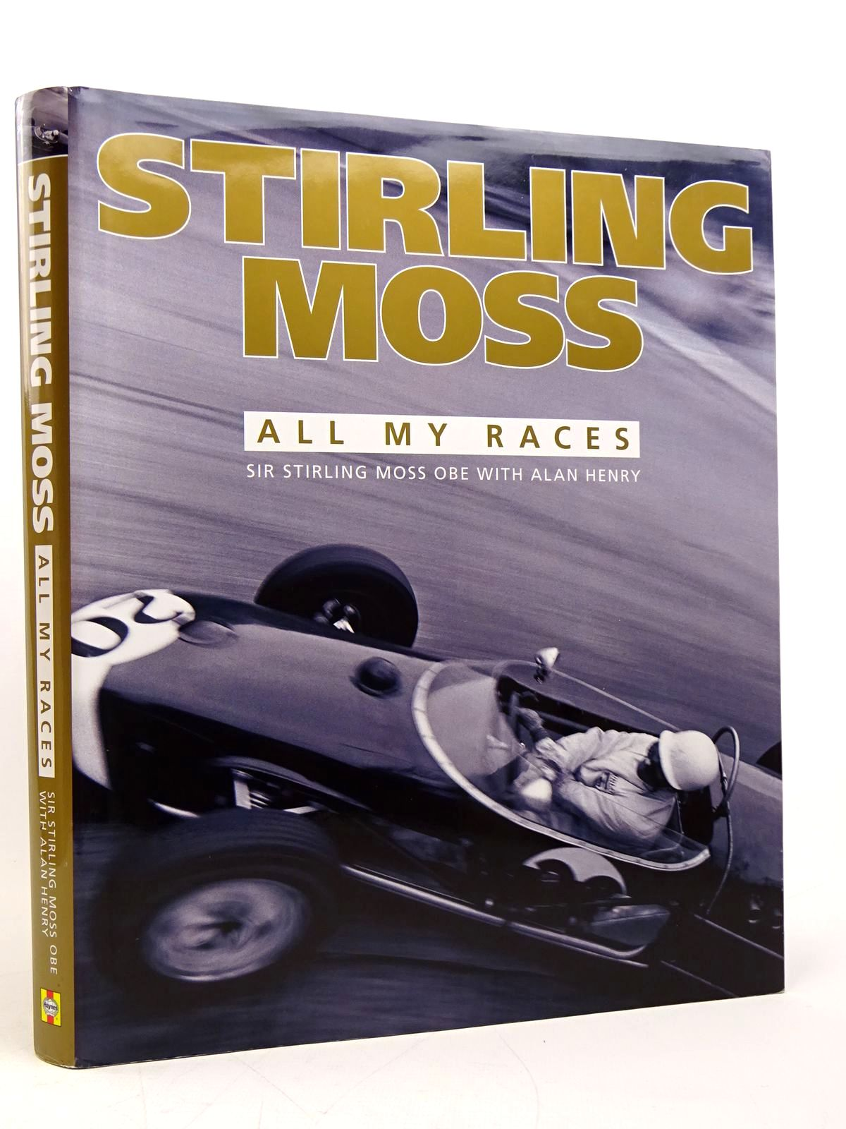 Photo of STIRLING MOSS: ALL MY RACES written by Moss, Stirling<br />Henry, Alan published by Haynes Publishing (STOCK CODE: 1817779)  for sale by Stella & Rose's Books