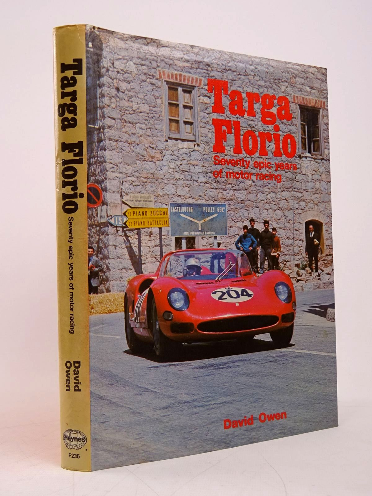 Photo of TARGA FLORIO written by Owen, David published by Foulis, Haynes (STOCK CODE: 1817867)  for sale by Stella & Rose's Books