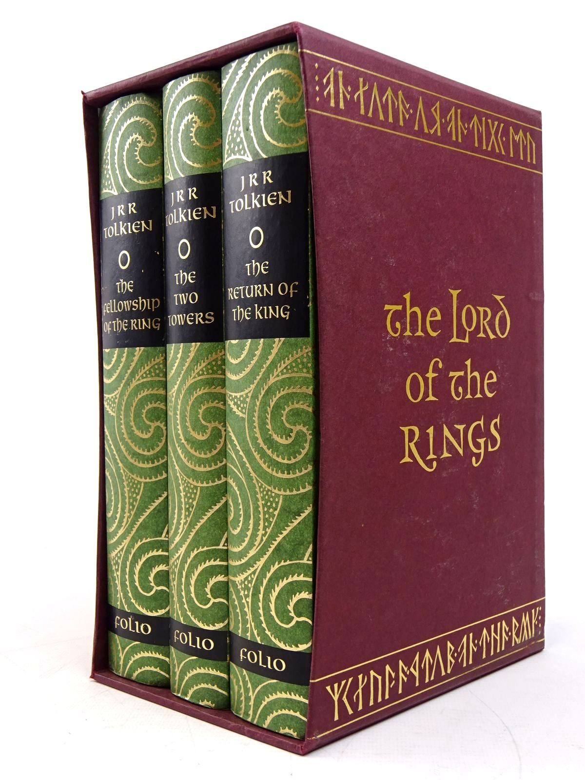 Photo of THE LORD OF THE RINGS written by Tolkien, J.R.R. illustrated by Grathmer, Ingahild<br />Fraser, Eric published by Folio Society (STOCK CODE: 1817953)  for sale by Stella & Rose's Books